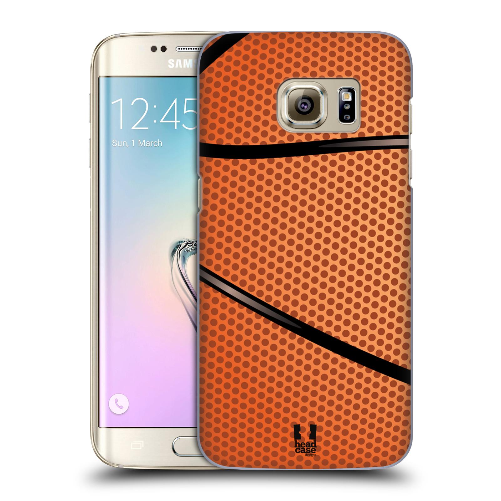 Plastové pouzdro na mobil Samsung Galaxy S7 Edge HEAD CASE BASKEŤÁK