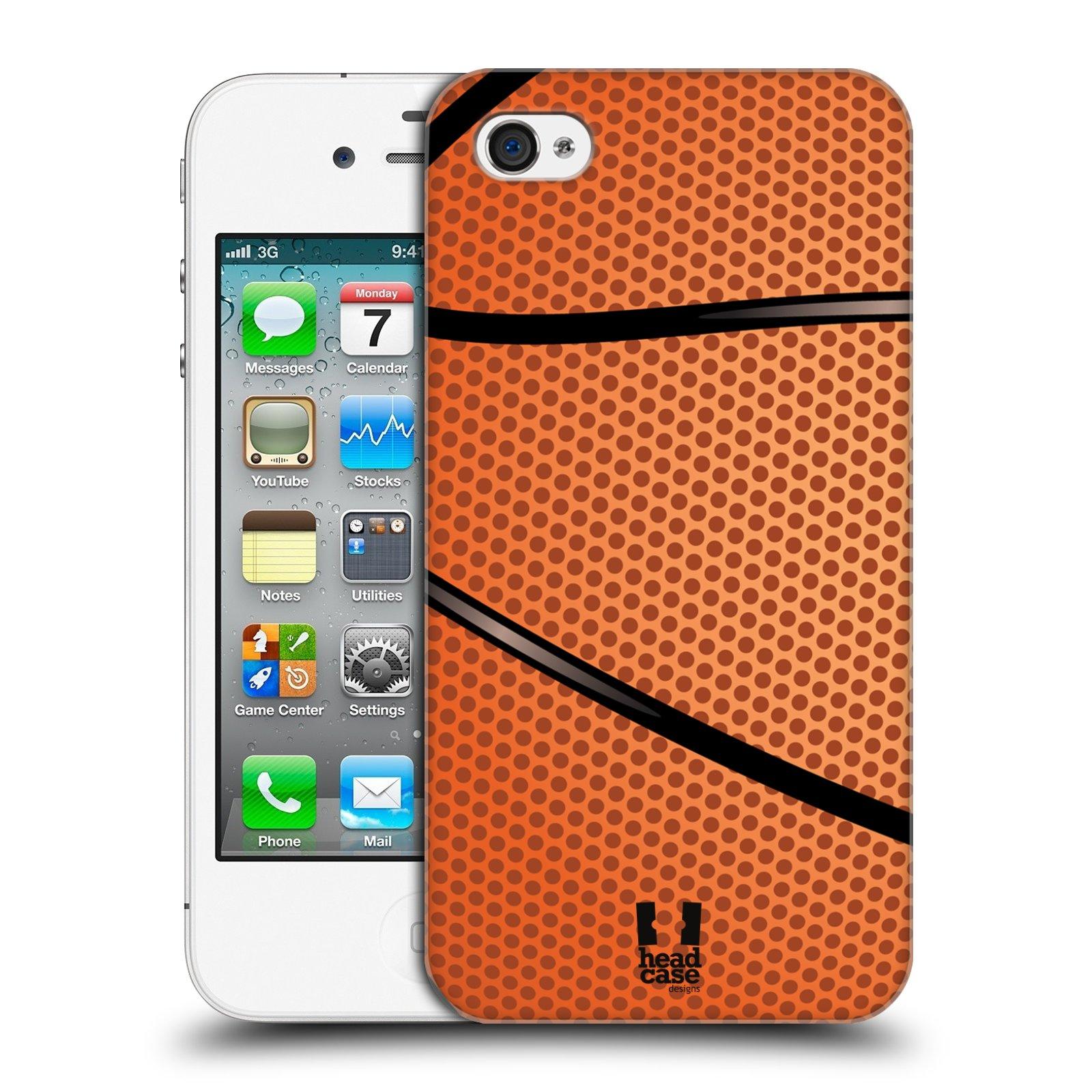Plastové pouzdro na mobil Apple iPhone 4 a 4S HEAD CASE BASKEŤÁK
