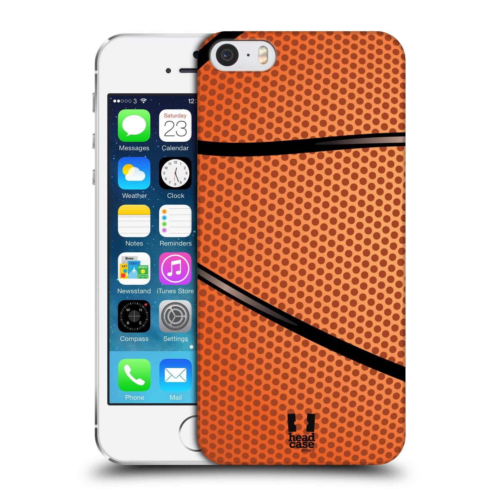 Plastové pouzdro na mobil Apple iPhone SE, 5 a 5S HEAD CASE BASKEŤÁK