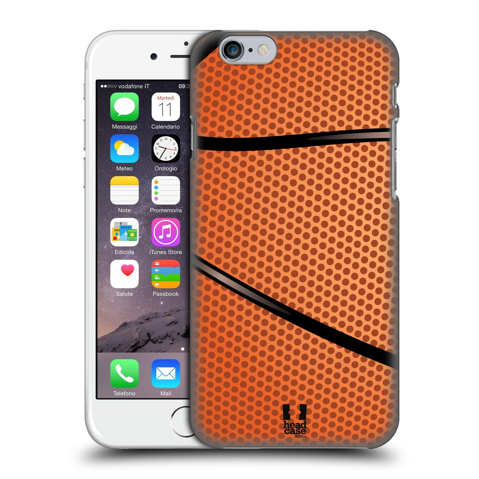 Plastové pouzdro na mobil Apple iPhone 6 a 6S HEAD CASE BASKEŤÁK
