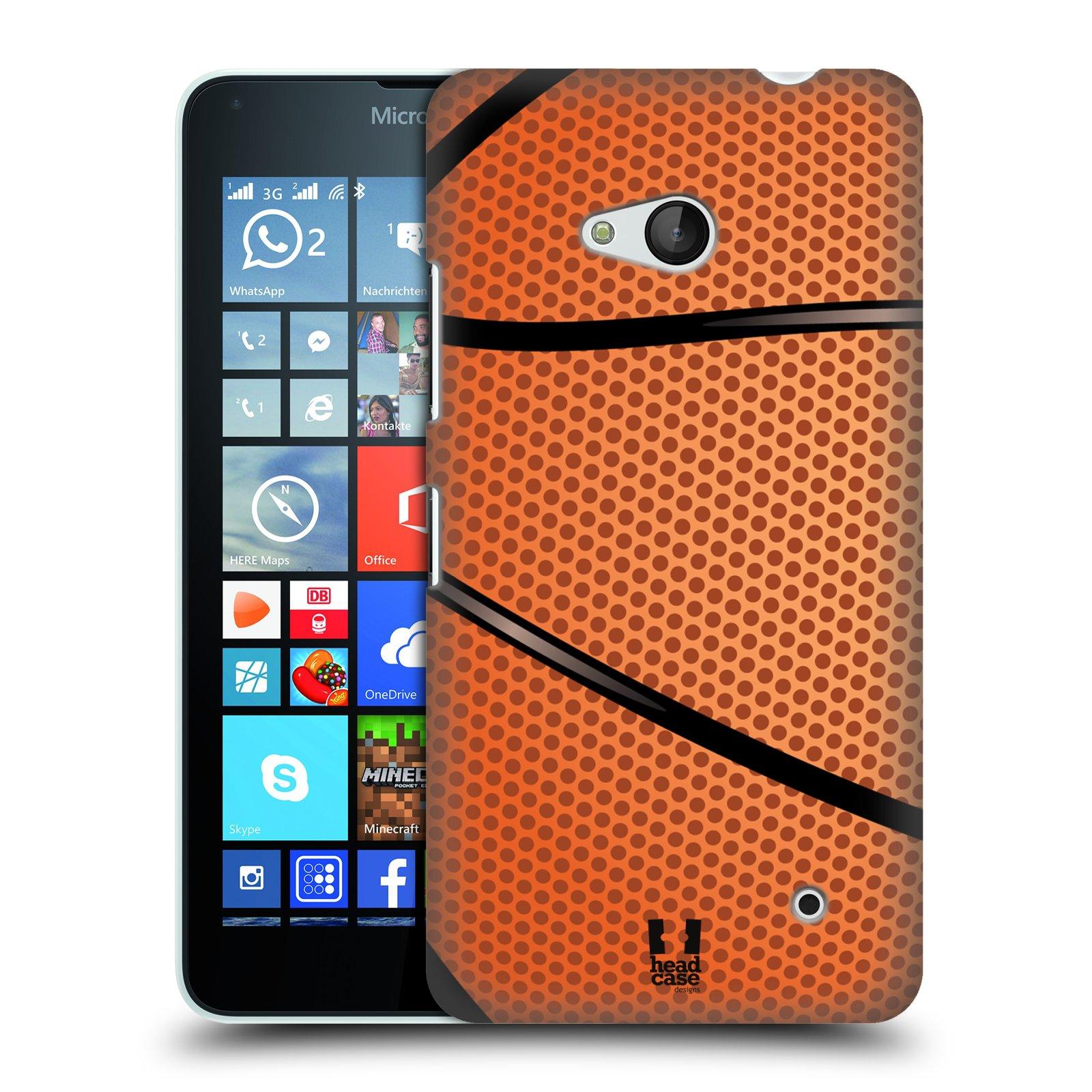 Plastové pouzdro na mobil Microsoft Lumia 640 HEAD CASE BASKEŤÁK