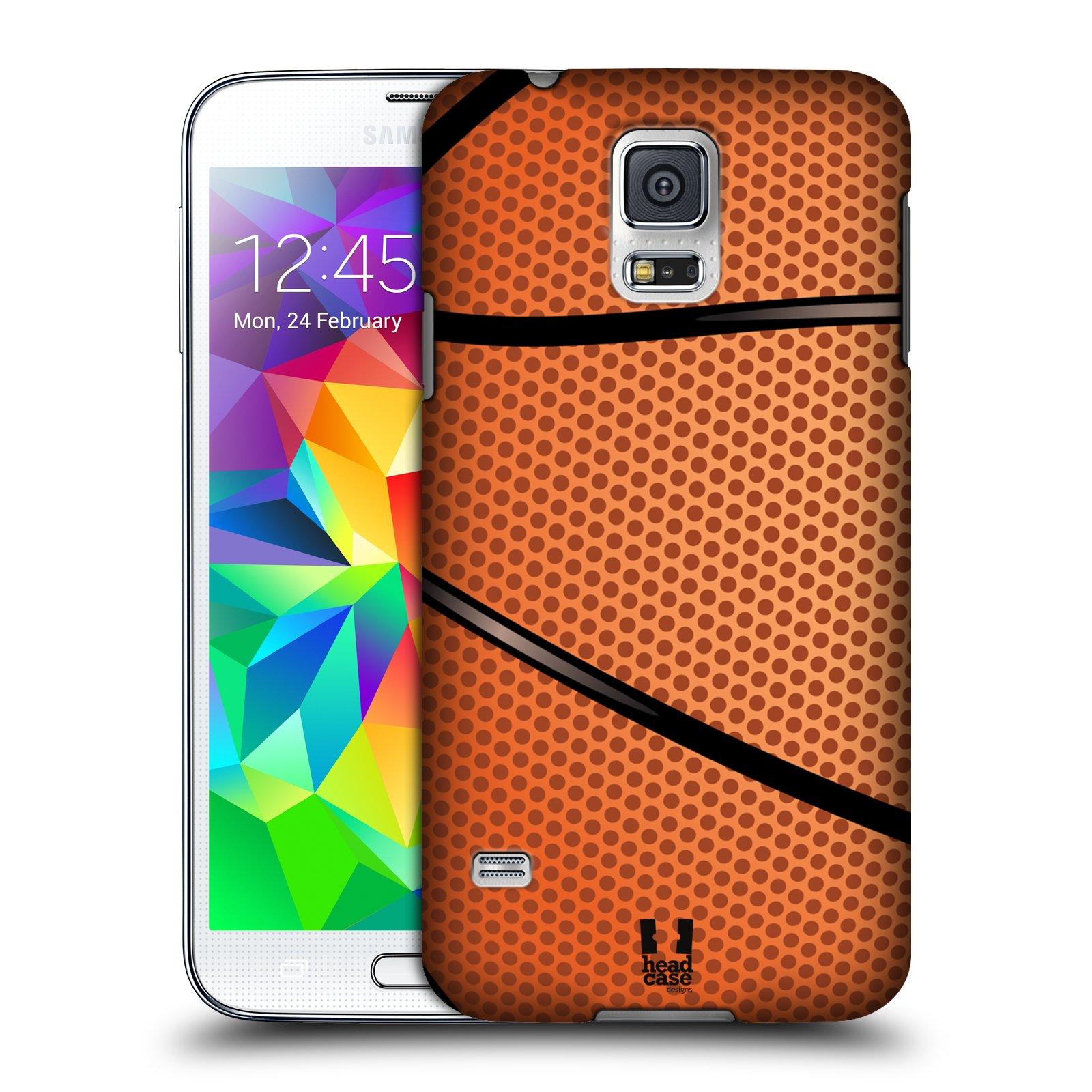 Plastové pouzdro na mobil Samsung Galaxy S5 HEAD CASE BASKEŤÁK