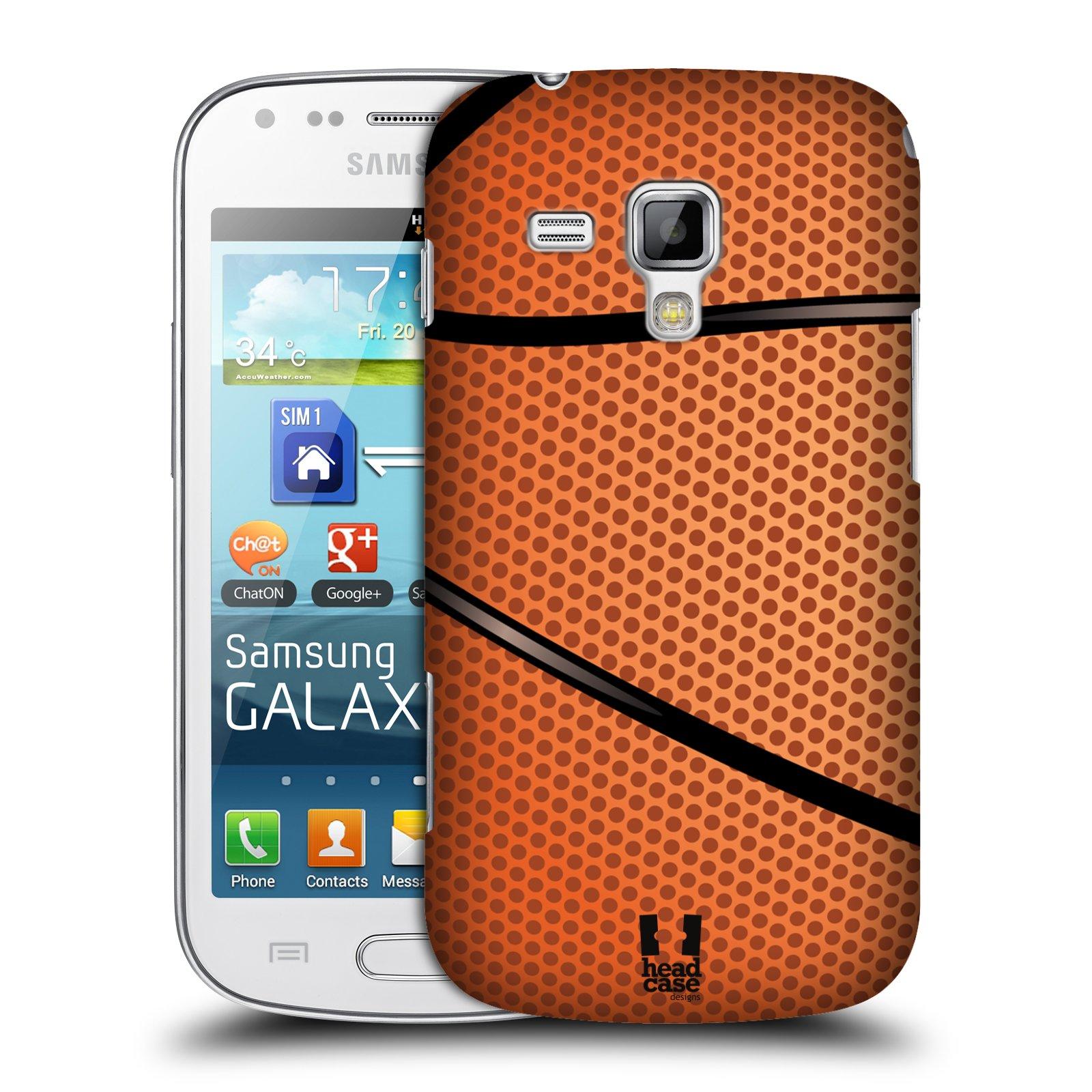 Plastové pouzdro na mobil Samsung Galaxy Trend Plus HEAD CASE BASKEŤÁK