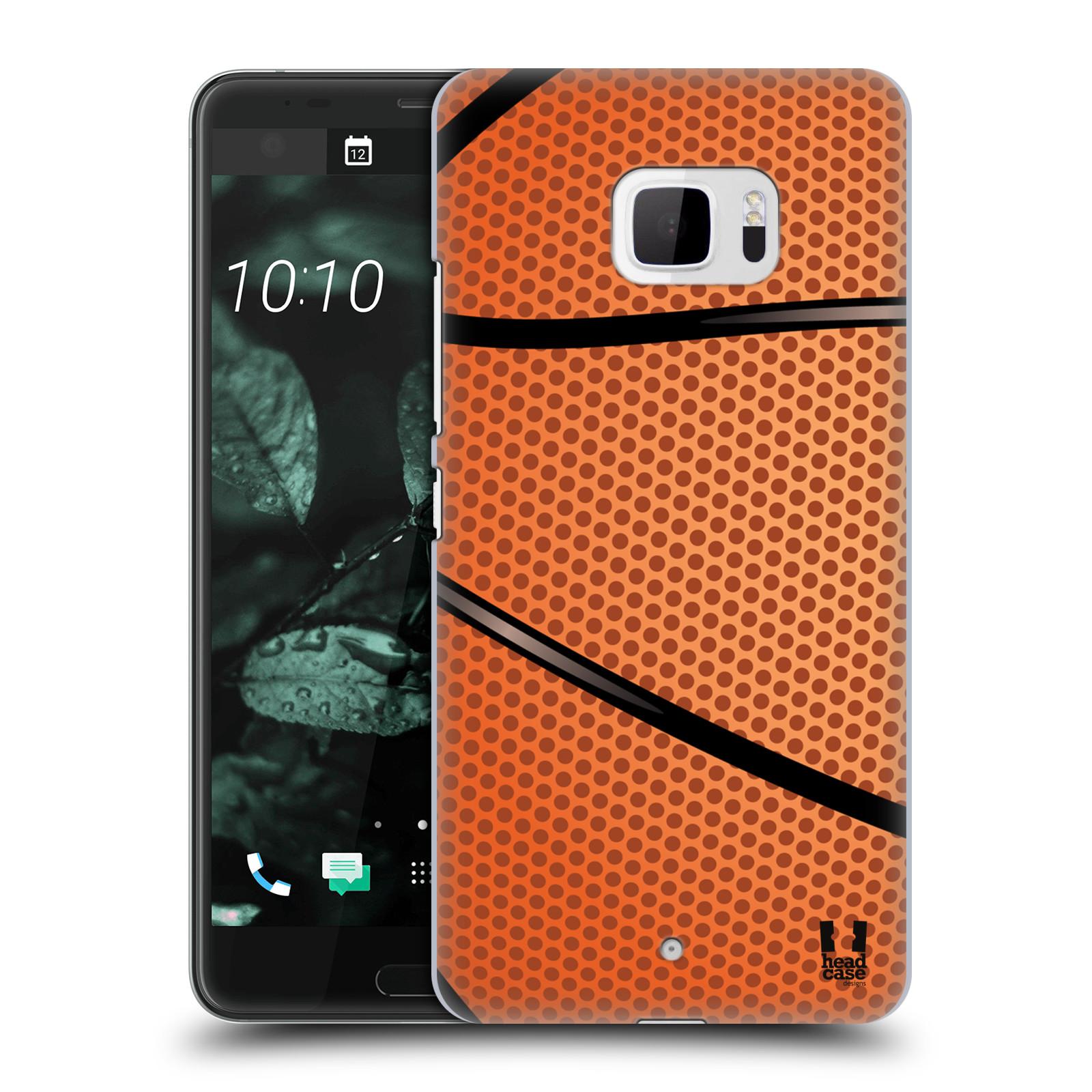 Plastové pouzdro na mobil HTC U Ultra Head Case - BASKEŤÁK (Plastový kryt či obal na mobilní telefon HTC U Ultra (99HALT015-00))