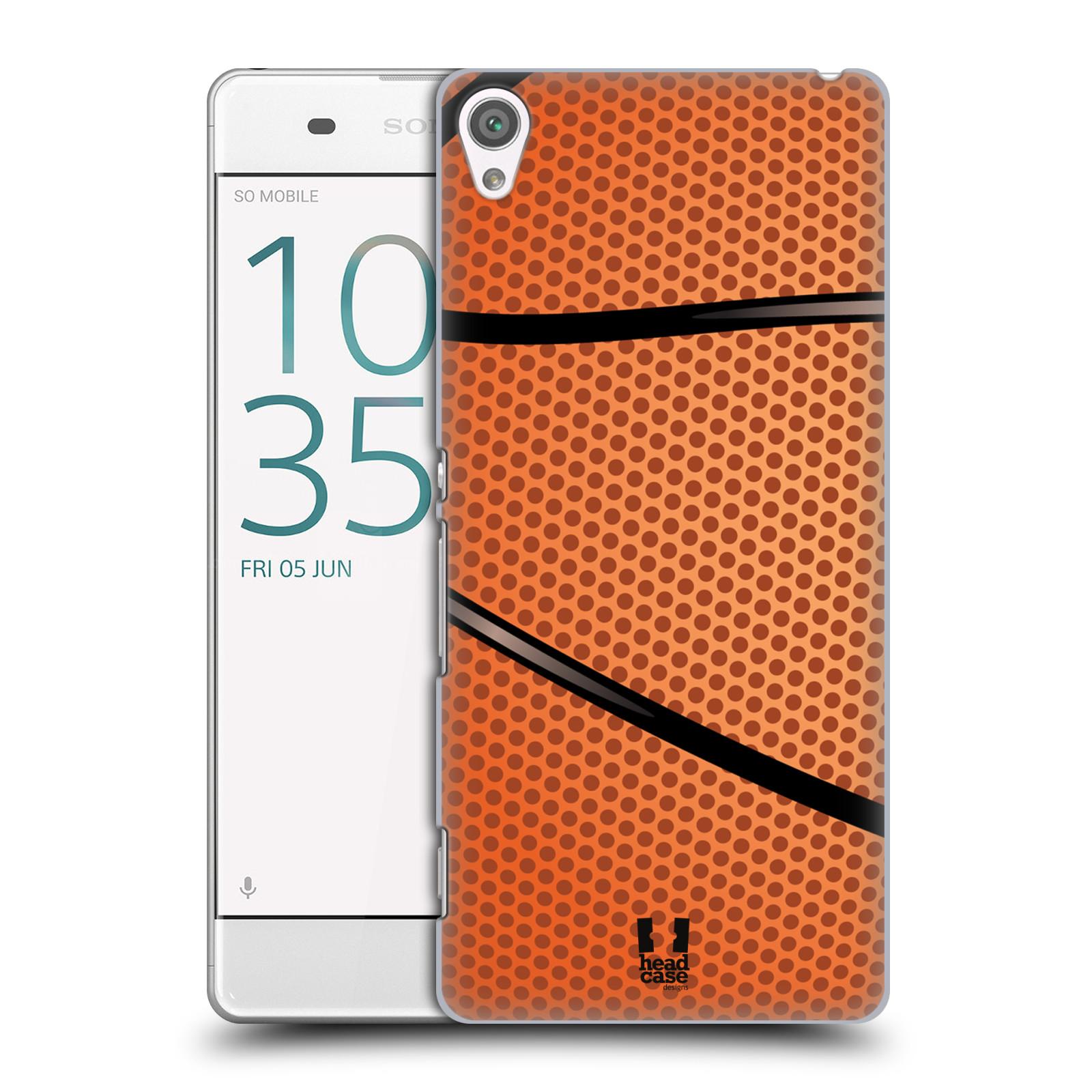 Plastové pouzdro na mobil Sony Xperia XA HEAD CASE BASKEŤÁK