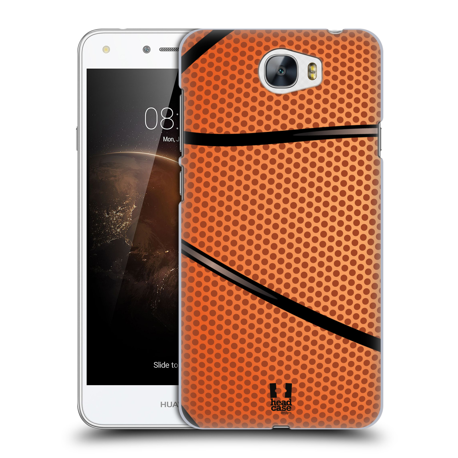 Plastové pouzdro na mobil Huawei Y5 II HEAD CASE BASKEŤÁK