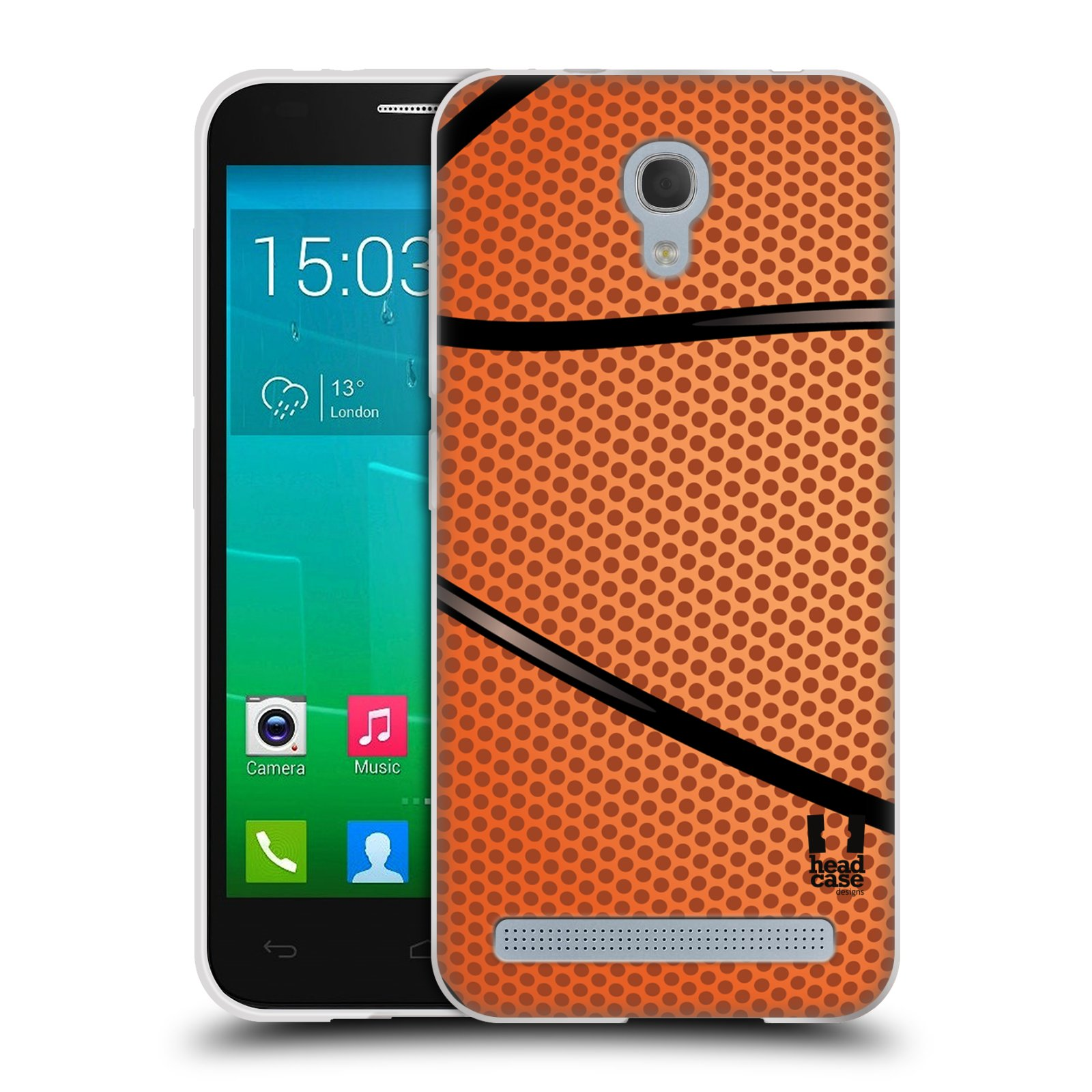 Silikonové pouzdro na mobil Alcatel One Touch Idol 2 Mini S 6036Y HEAD CASE BASKEŤÁK
