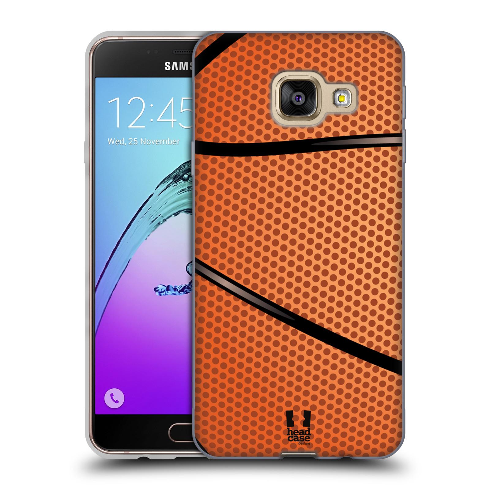 Silikonové pouzdro na mobil Samsung Galaxy A3 (2016) HEAD CASE BASKEŤÁK