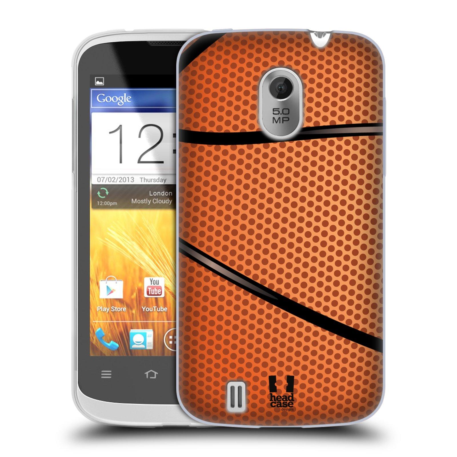 Silikonové pouzdro na mobil ZTE Blade III HEAD CASE BASKEŤÁK (Silikonový kryt či obal na mobilní telefon ZTE Blade 3)