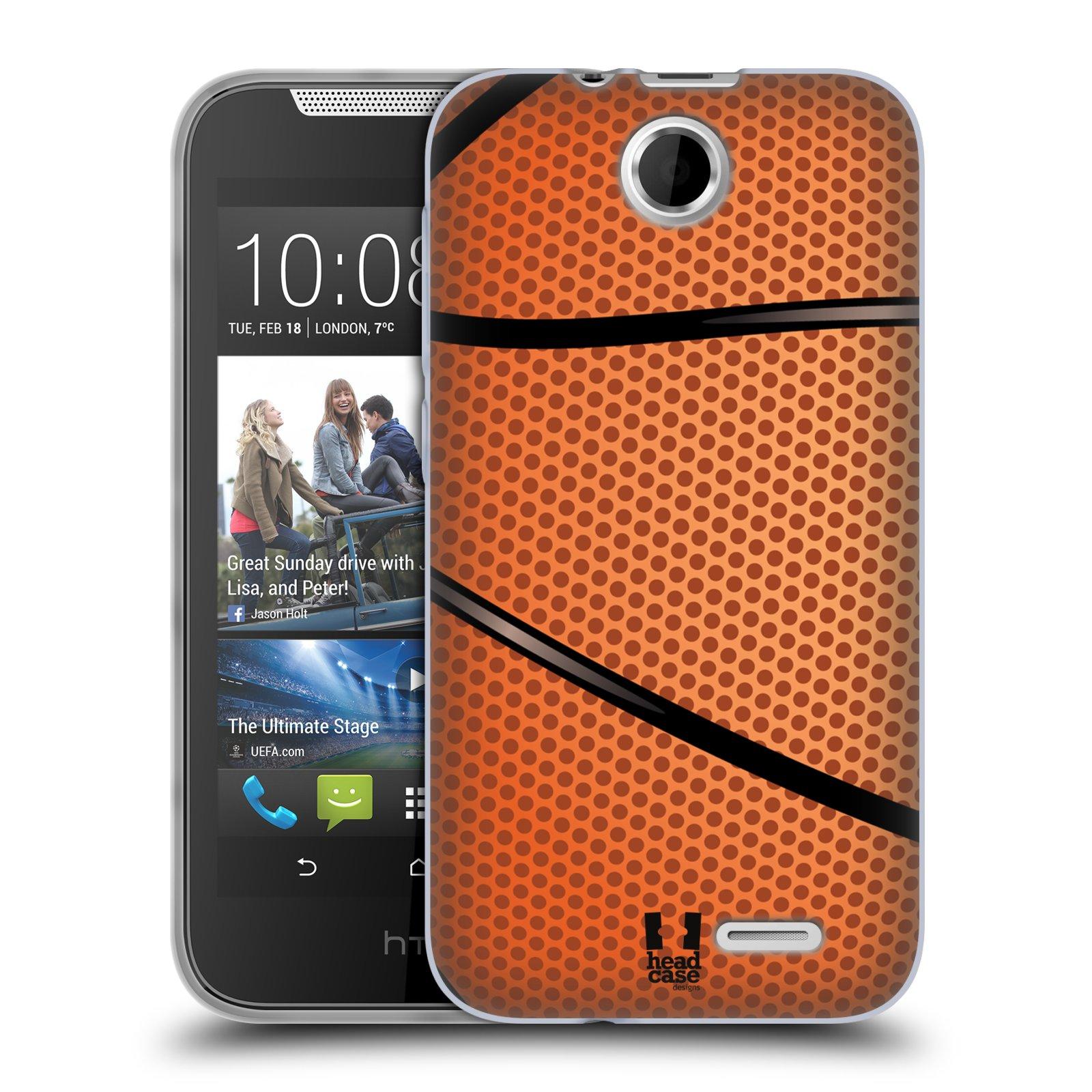 Silikonové pouzdro na mobil HTC Desire 310 HEAD CASE BASKEŤÁK (Silikonový kryt či obal na mobilní telefon HTC Desire 310)