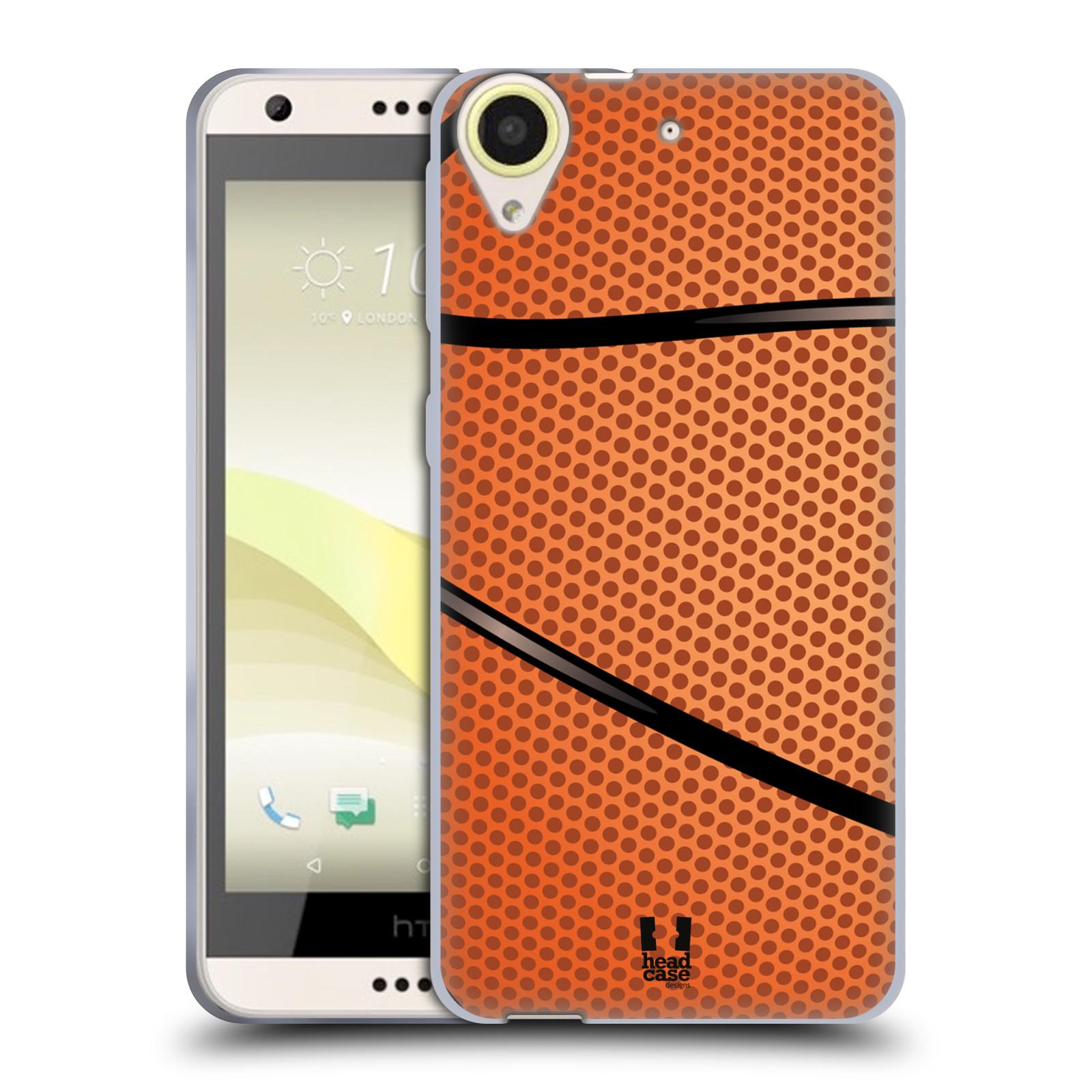 Silikonové pouzdro na mobil HTC Desire 650 HEAD CASE BASKEŤÁK (Silikonový kryt či obal na mobilní telefon HTC Desire 650)