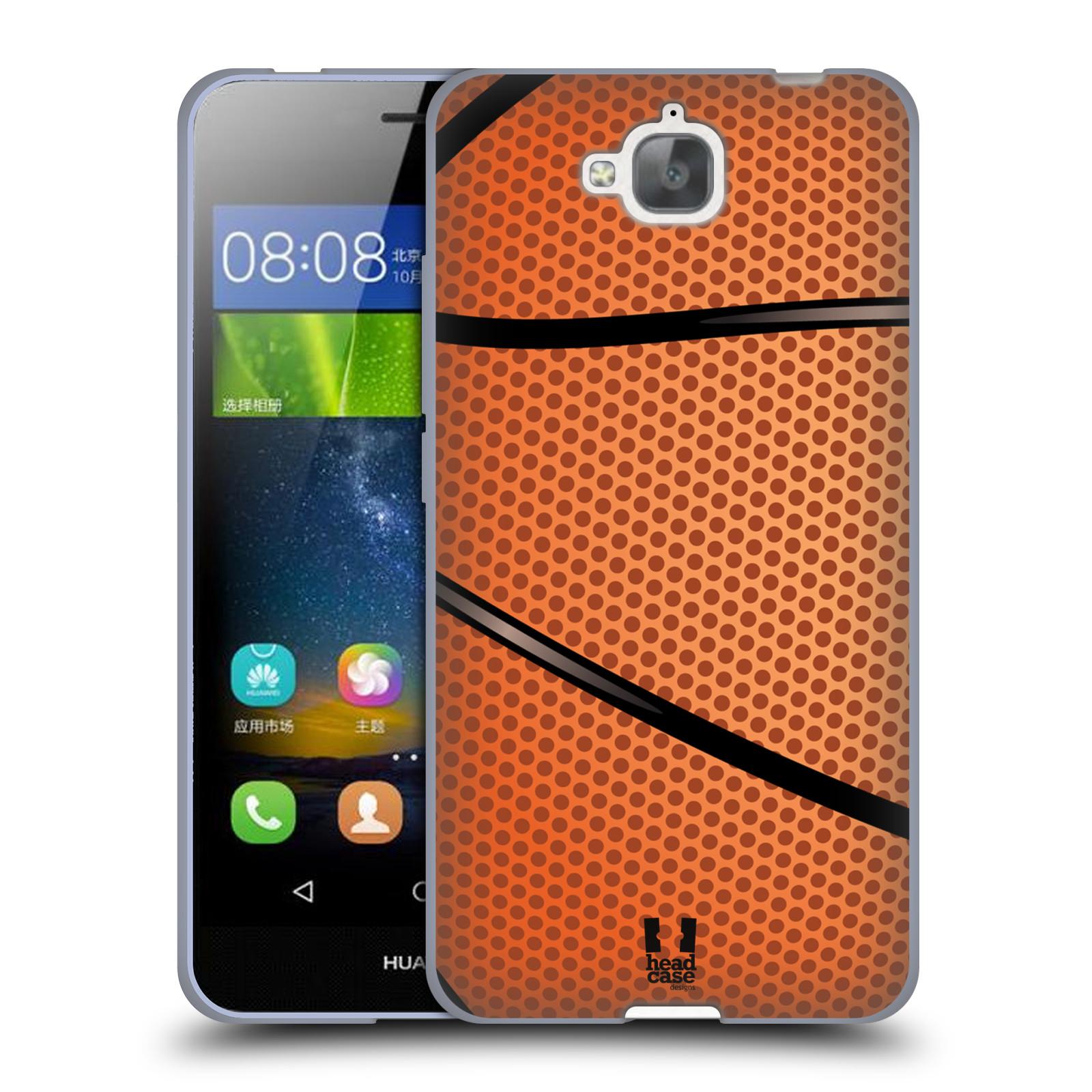 Silikonové pouzdro na mobil Huawei Y6 Pro Dual Sim HEAD CASE BASKEŤÁK