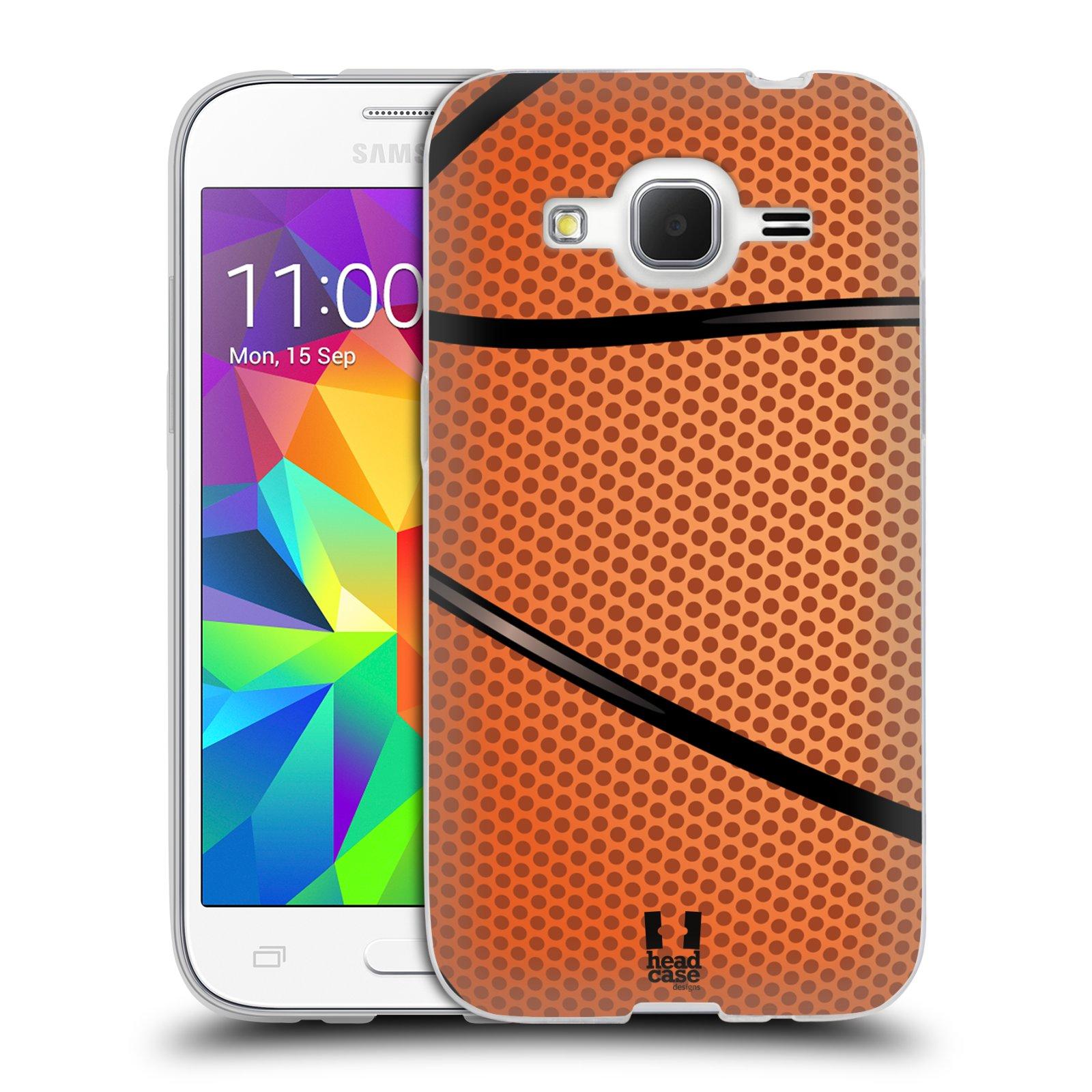 Silikonové pouzdro na mobil Samsung Galaxy Core Prime LTE HEAD CASE BASKEŤÁK