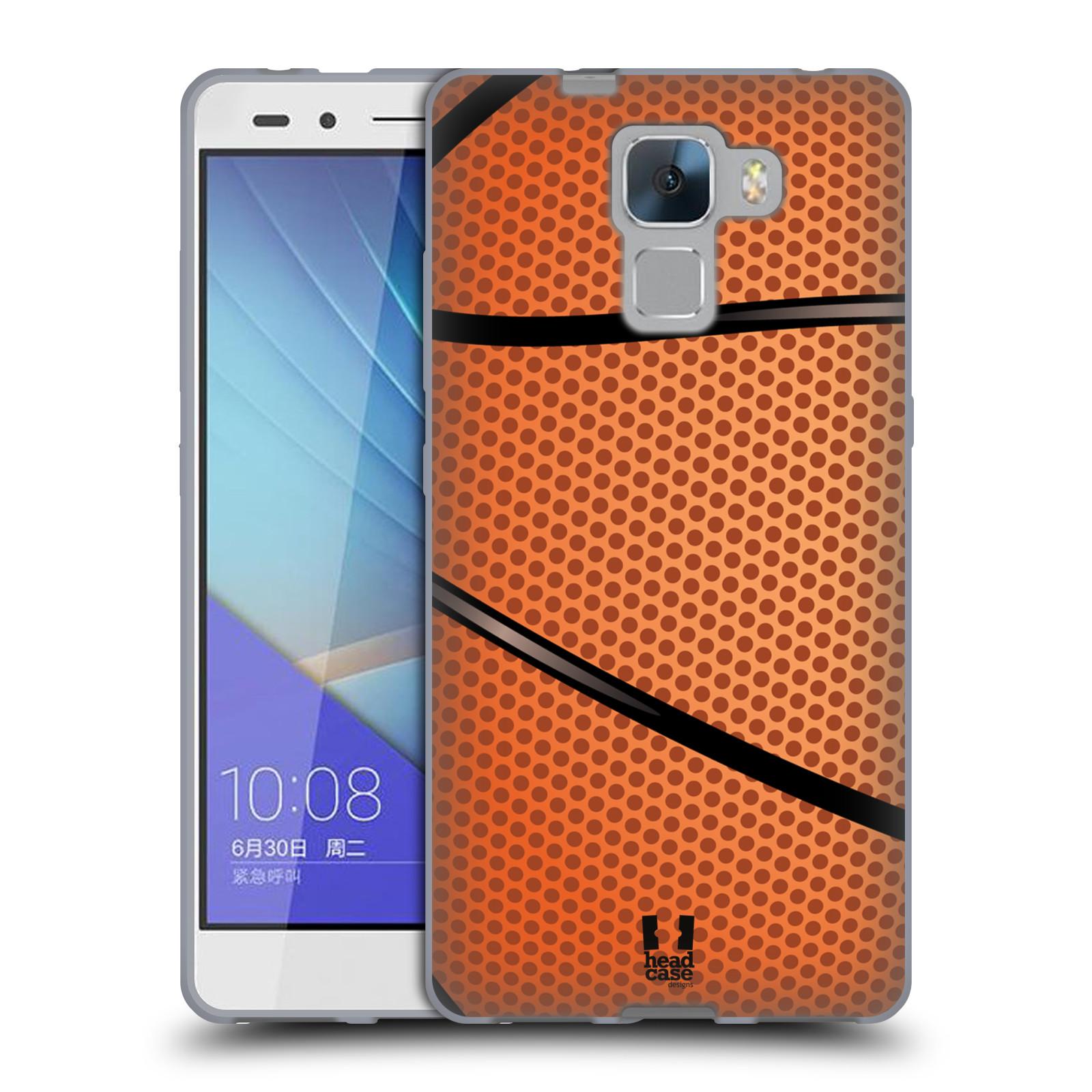 Silikonové pouzdro na mobil Honor 7 HEAD CASE BASKEŤÁK