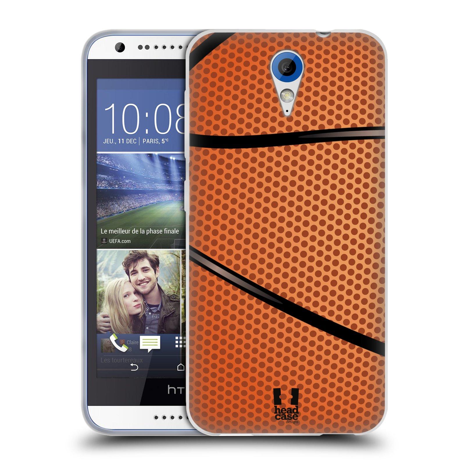 Silikonové pouzdro na mobil HTC Desire 620 HEAD CASE BASKEŤÁK (Silikonový kryt či obal na mobilní telefon HTC Desire 620)