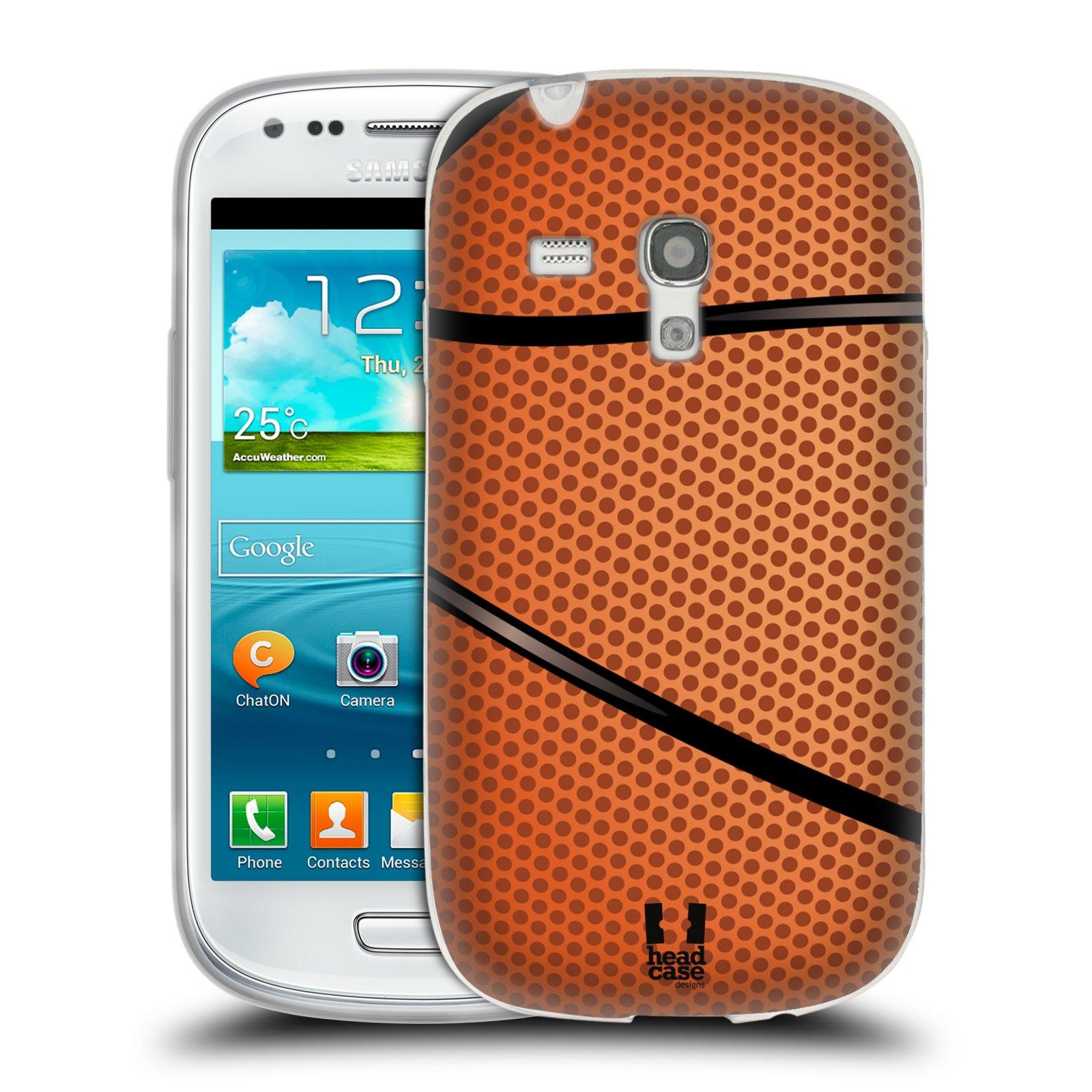 Silikonové pouzdro na mobil Samsung Galaxy S III Mini HEAD CASE BASKEŤÁK (Silikonový kryt či obal na mobilní telefon Samsung Galaxy S III Mini GT-i8190)