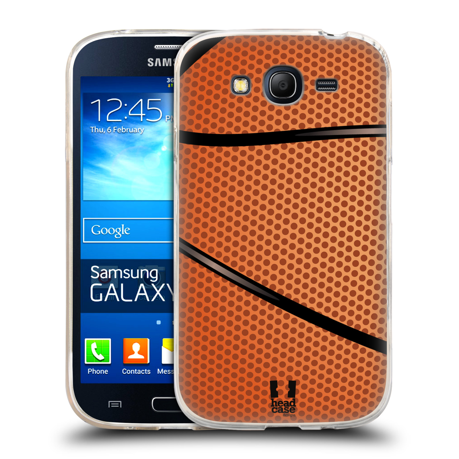 Silikonové pouzdro na mobil Samsung Galaxy Grand Neo Plus HEAD CASE BASKEŤÁK (Silikonový kryt či obal na mobilní telefon Samsung Galaxy Grand Neo Plus Duos GT-I9060i)