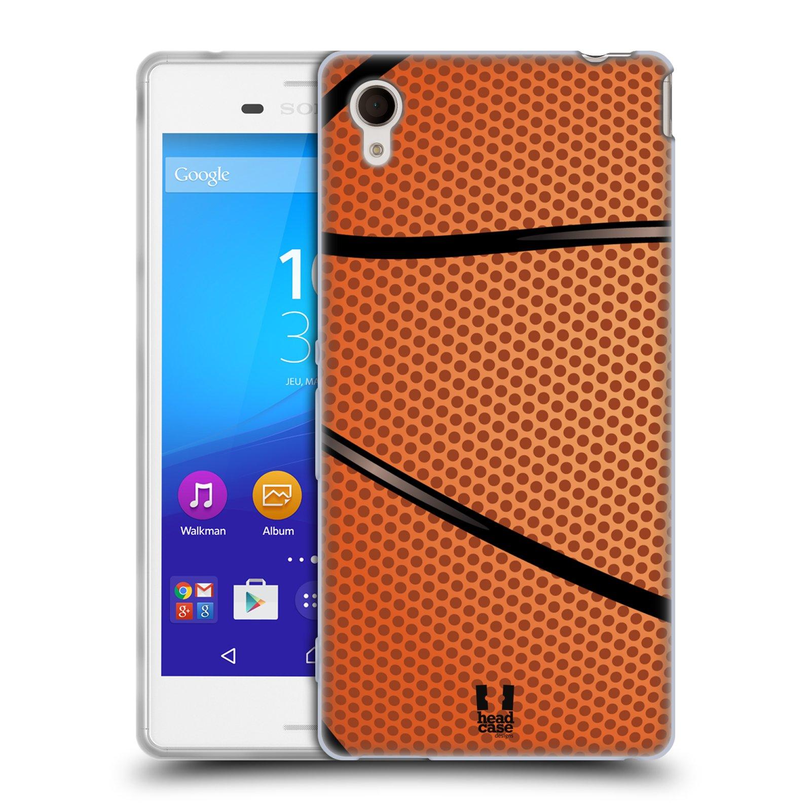 Silikonové pouzdro na mobil Sony Xperia M4 Aqua E2303 HEAD CASE BASKEŤÁK (Silikonový kryt či obal na mobilní telefon Sony Xperia M4 Aqua a M4 Aqua Dual SIM)