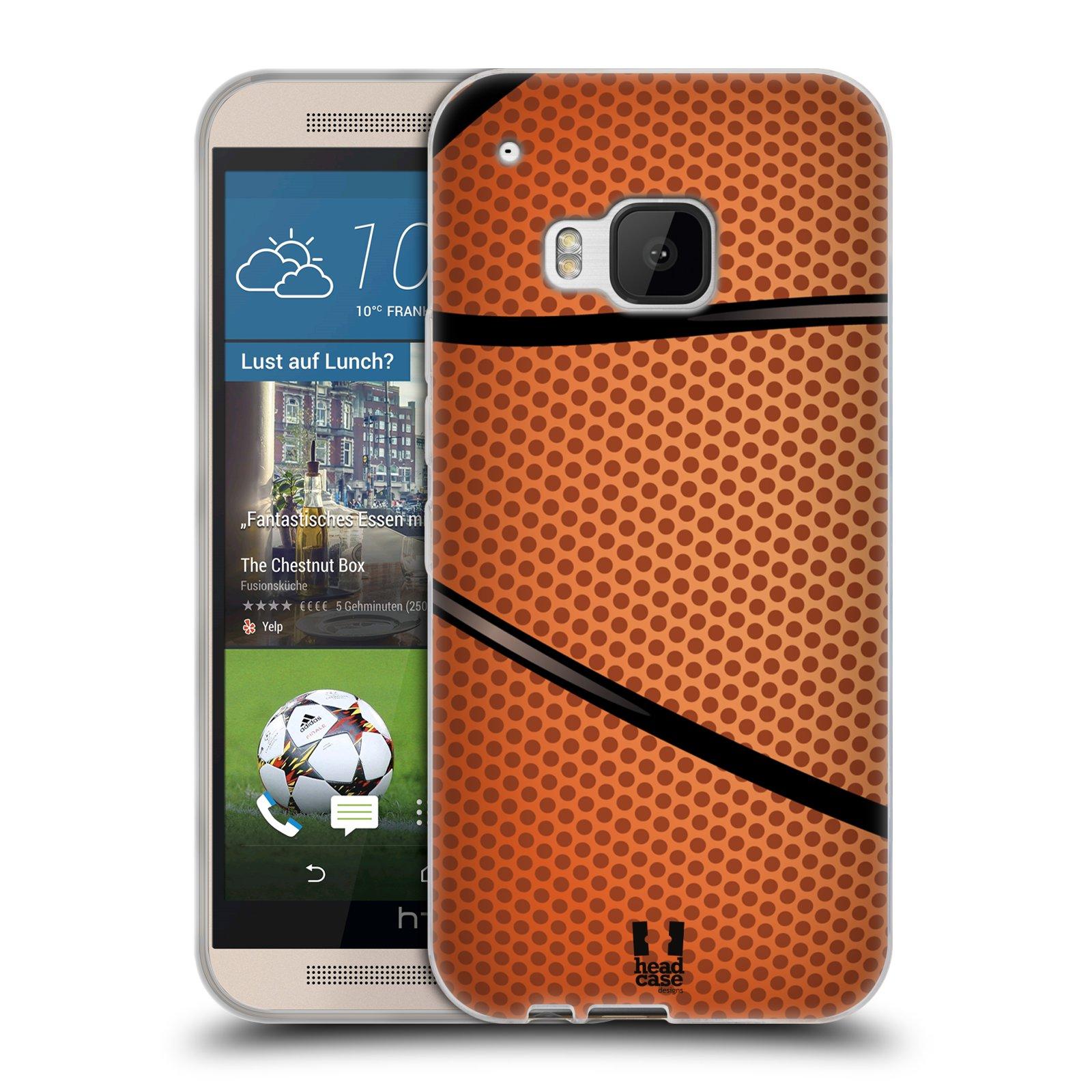 Silikonové pouzdro na mobil HTC ONE M9 HEAD CASE BASKEŤÁK (Silikonový kryt či obal na mobilní telefon HTC ONE M9)