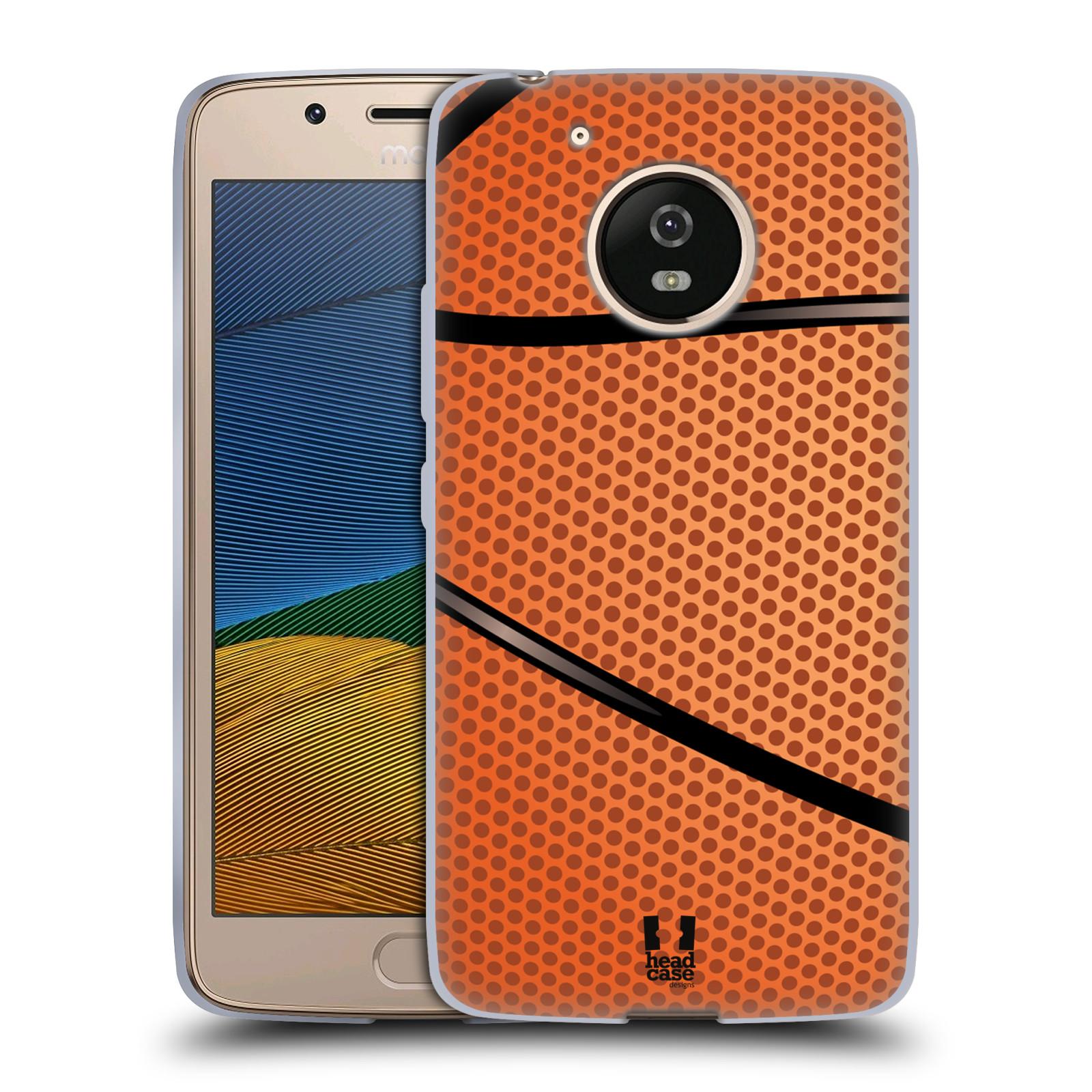 Silikonové pouzdro na mobil Lenovo Moto G5 - Head Case BASKEŤÁK (Silikonový kryt či obal na mobilní telefon Lenovo Moto G5)
