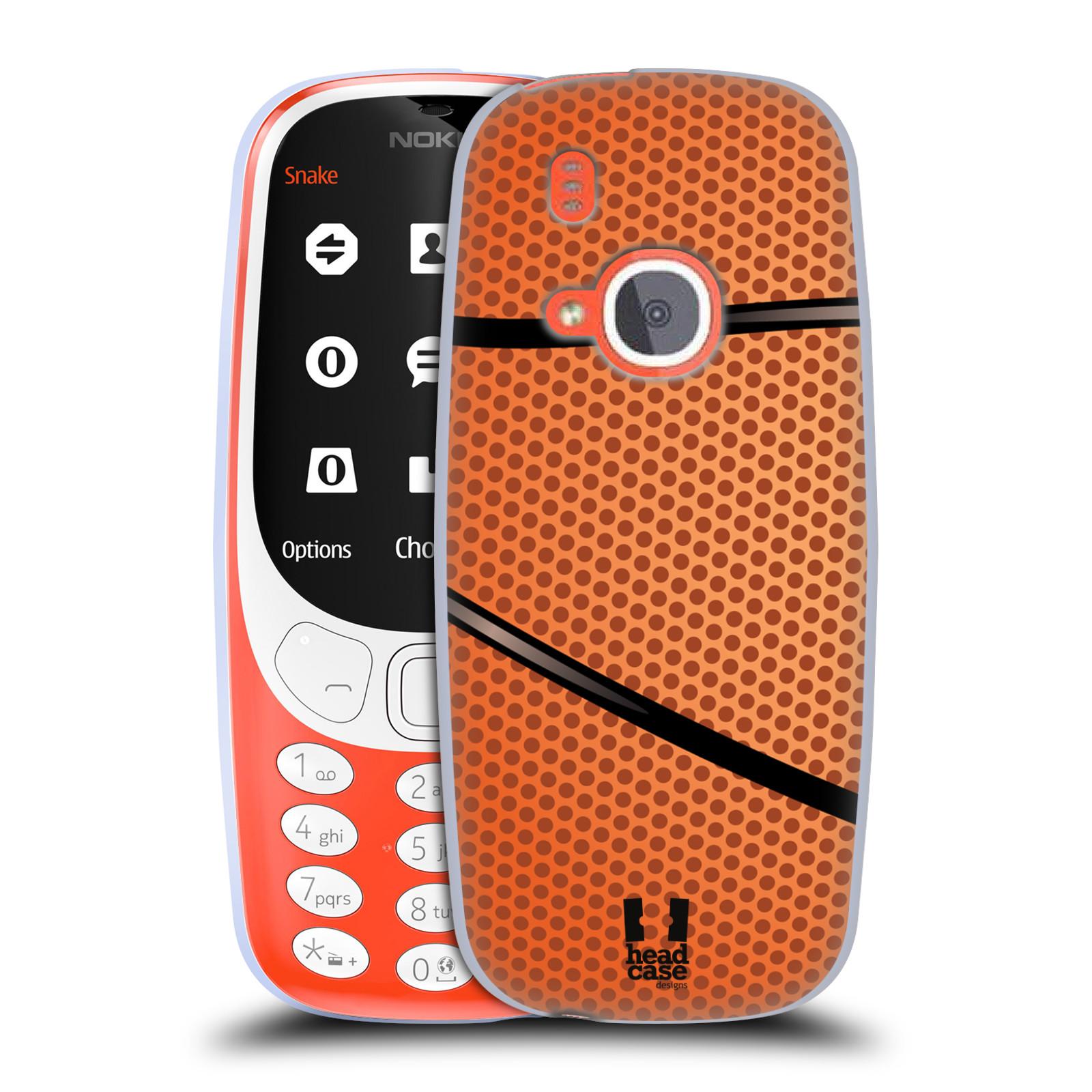 Silikonové pouzdro na mobil Nokia 3310 - Head Case - BASKEŤÁK