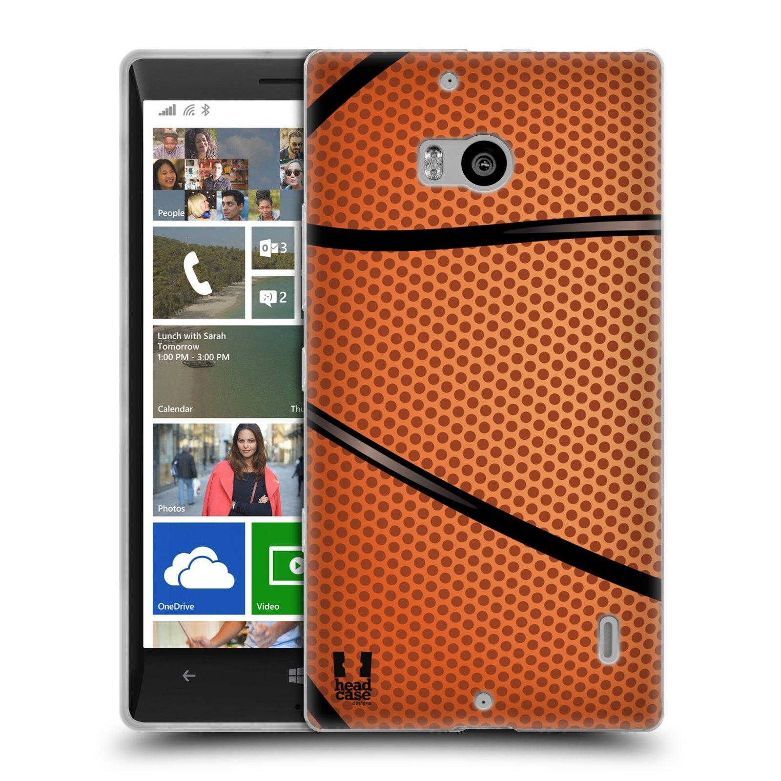 Silikonové pouzdro na mobil Nokia Lumia 930 HEAD CASE BASKEŤÁK (Silikonový kryt či obal na mobilní telefon Nokia Lumia 930)