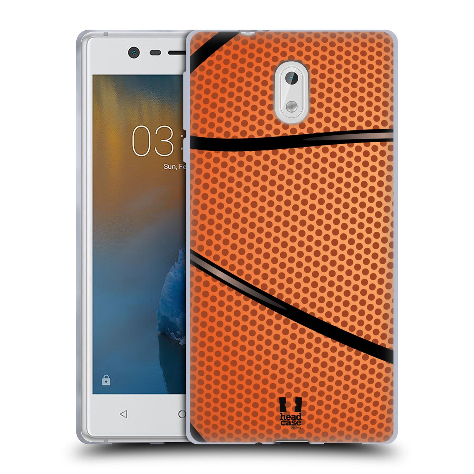 Silikonové pouzdro na mobil Nokia 3 Head Case - BASKEŤÁK