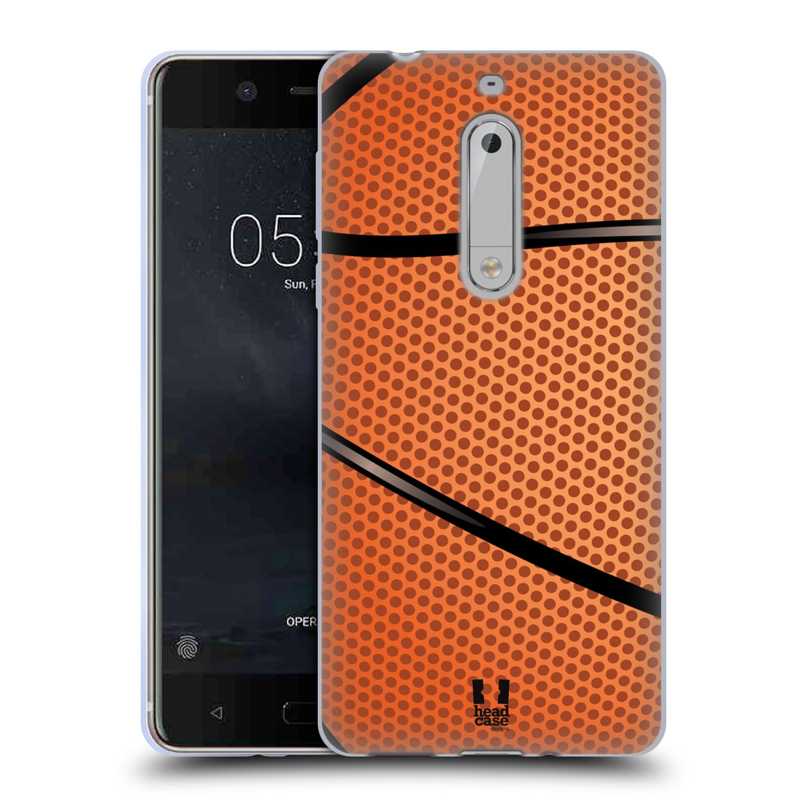 Silikonové pouzdro na mobil Nokia 5 Head Case - BASKEŤÁK
