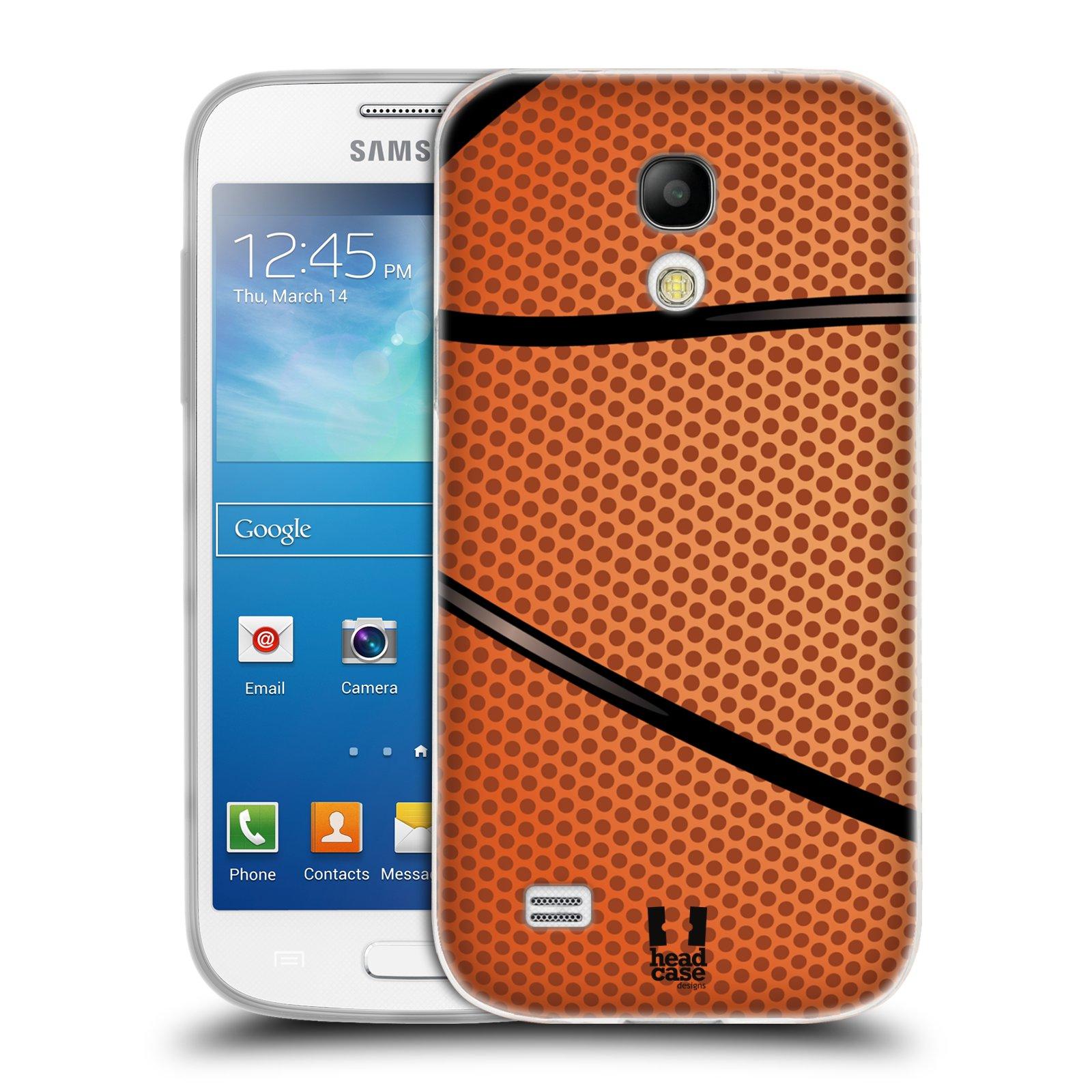 Silikonové pouzdro na mobil Samsung Galaxy S4 Mini HEAD CASE BASKEŤÁK