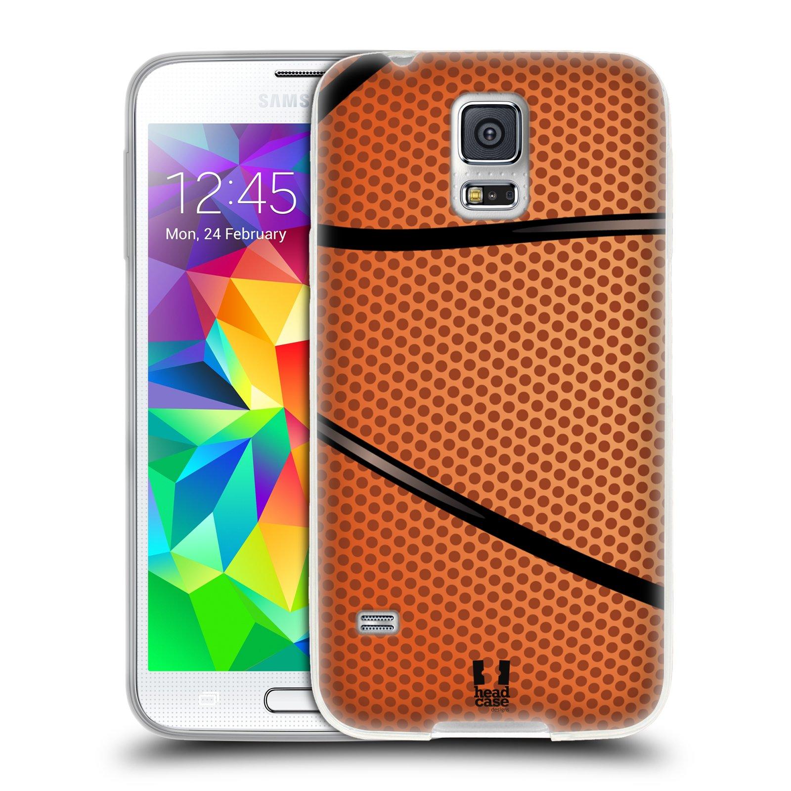 Silikonové pouzdro na mobil Samsung Galaxy S5 HEAD CASE BASKEŤÁK