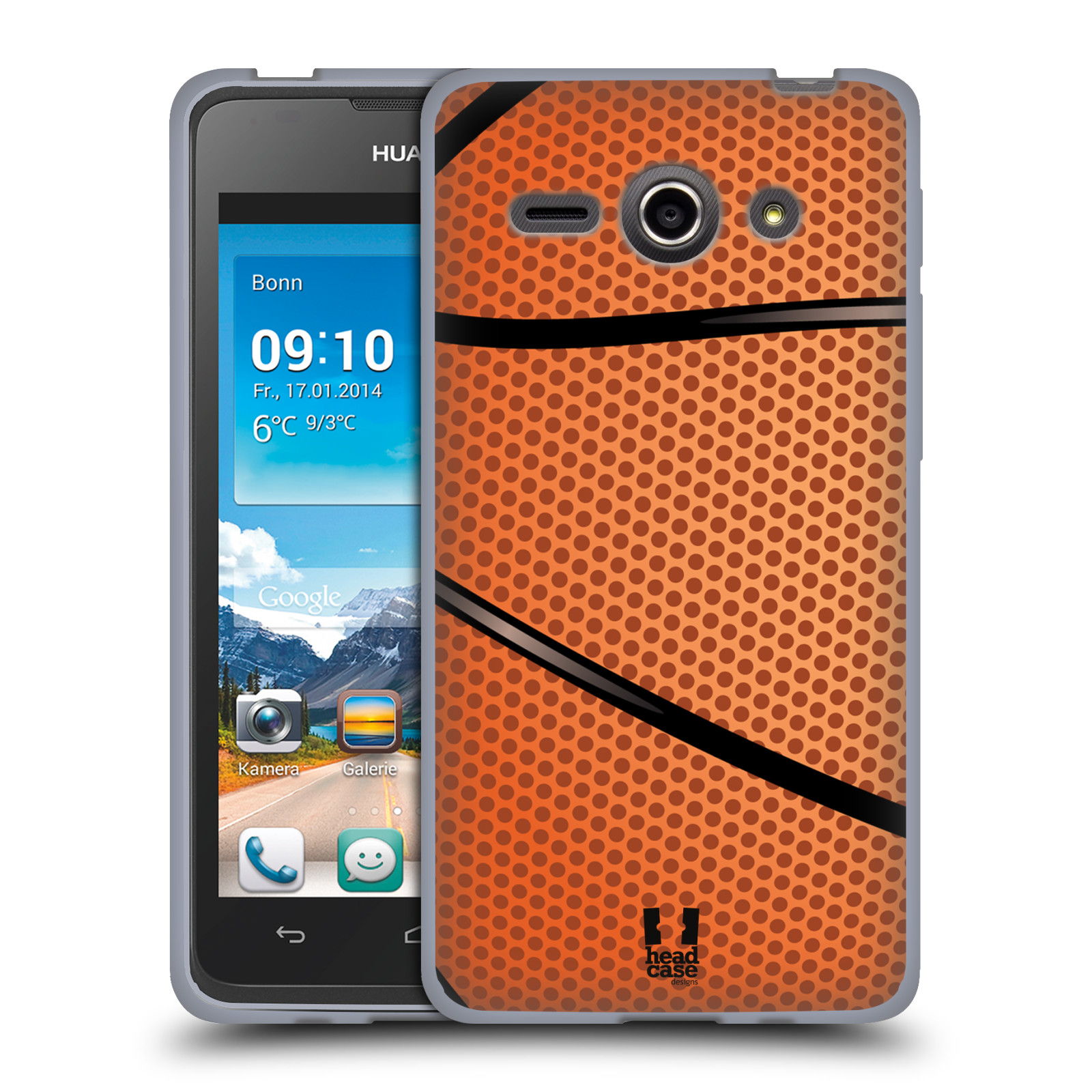 Silikonové pouzdro na mobil Huawei Ascend Y530 HEAD CASE BASKEŤÁK (Silikonový kryt či obal na mobilní telefon Huawei Ascend Y530)