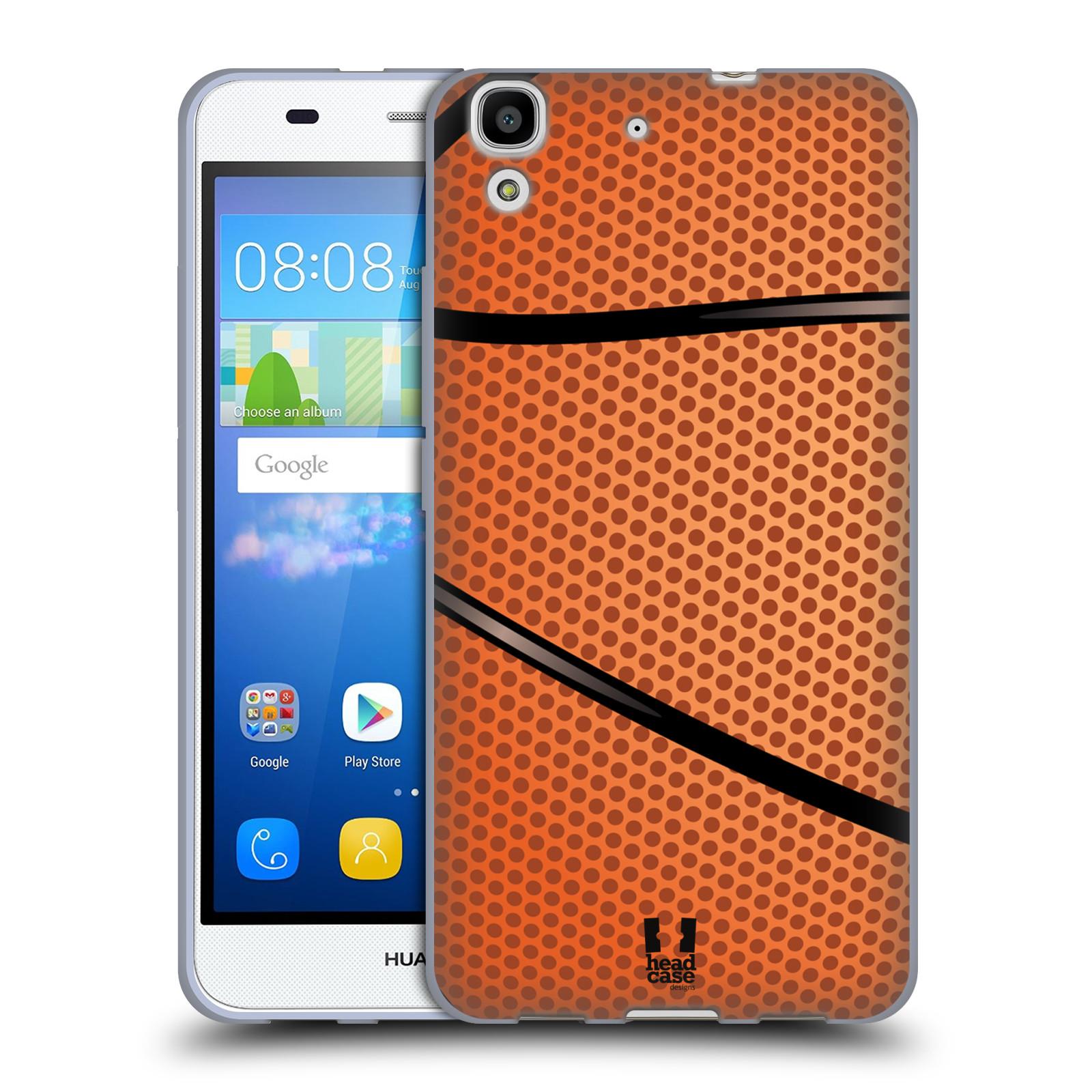 Silikonové pouzdro na mobil Huawei Y6 HEAD CASE BASKEŤÁK