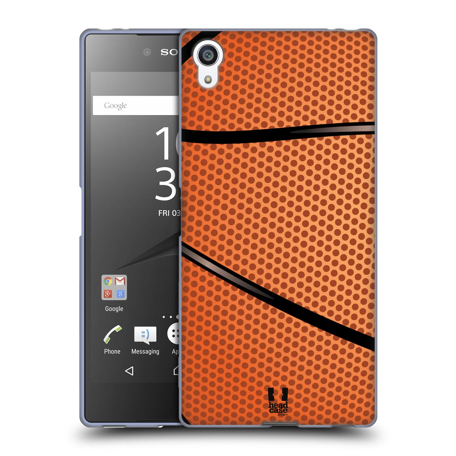 Silikonové pouzdro na mobil Sony Xperia Z5 Premium HEAD CASE BASKEŤÁK