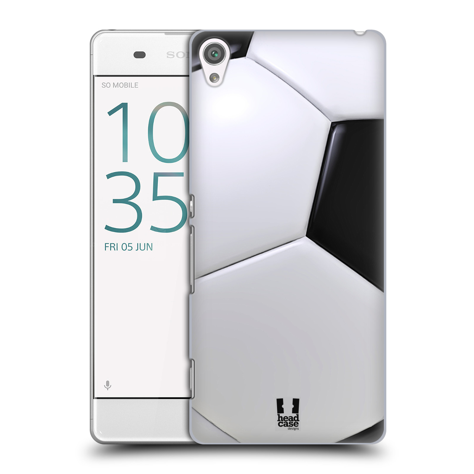 Plastové pouzdro na mobil Sony Xperia XA HEAD CASE KOPAČÁK
