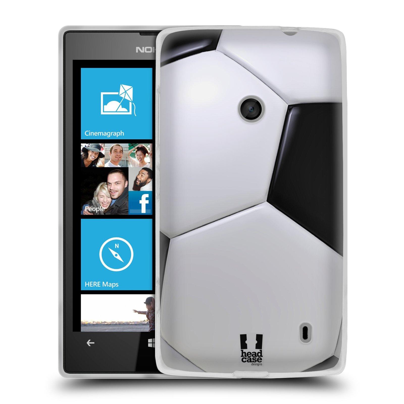 Silikonové pouzdro na mobil Nokia Lumia 520 HEAD CASE KOPAČÁK (Silikonový Kryt či obal na mobilní telefon Nokia Lumia 520)