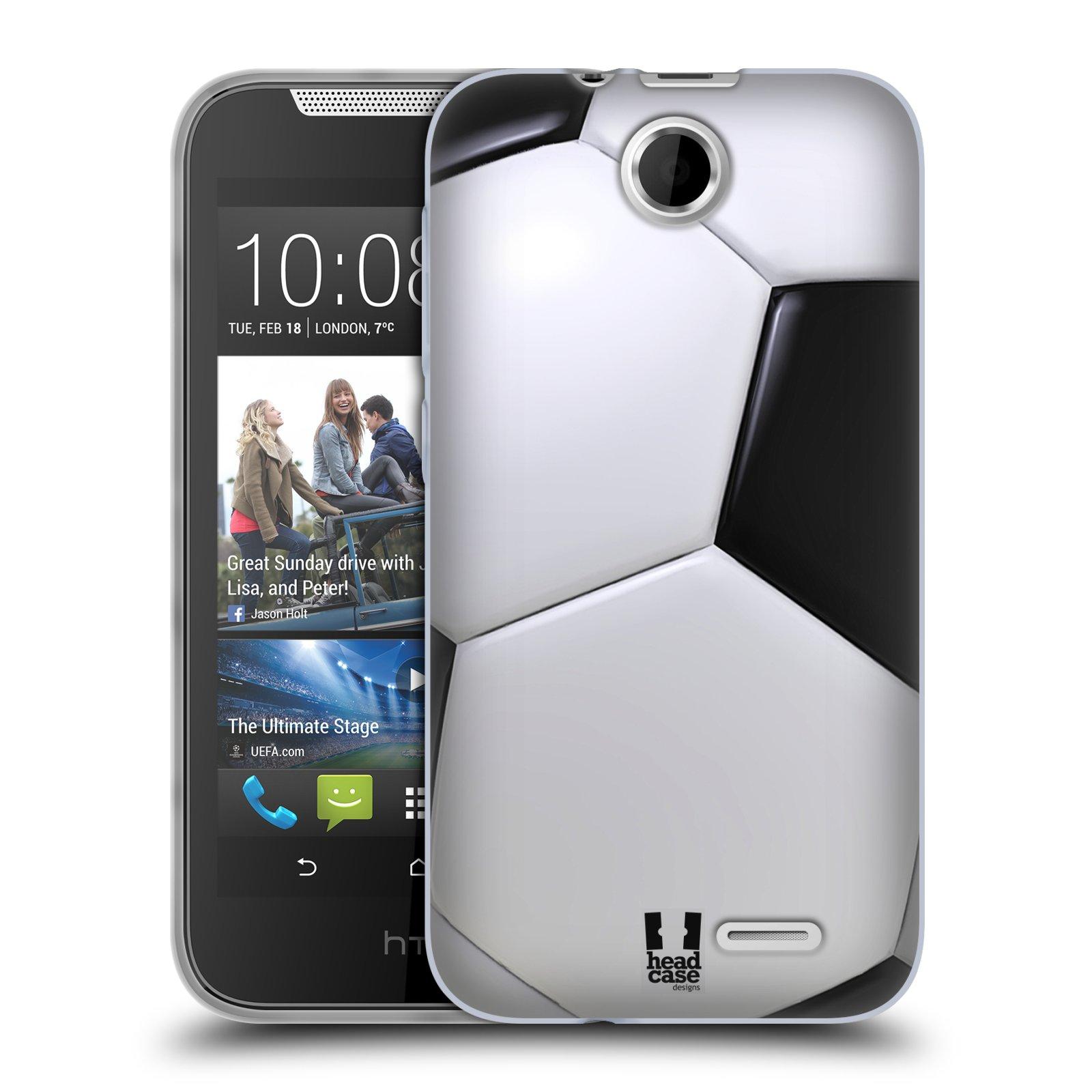 Silikonové pouzdro na mobil HTC Desire 310 HEAD CASE KOPAČÁK (Silikonový kryt či obal na mobilní telefon HTC Desire 310)