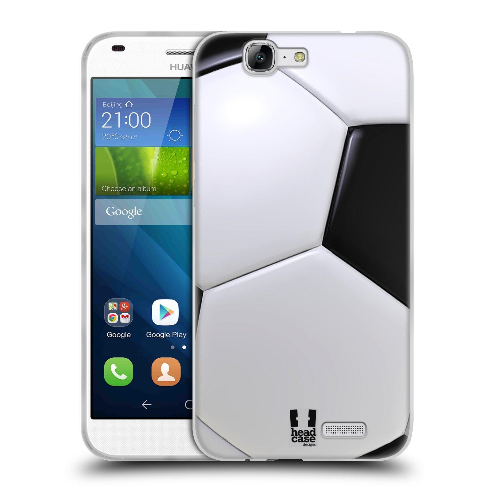 Silikonové pouzdro na mobil Huawei Ascend G7 HEAD CASE KOPAČÁK (Silikonový kryt či obal na mobilní telefon Huawei Ascend G7)