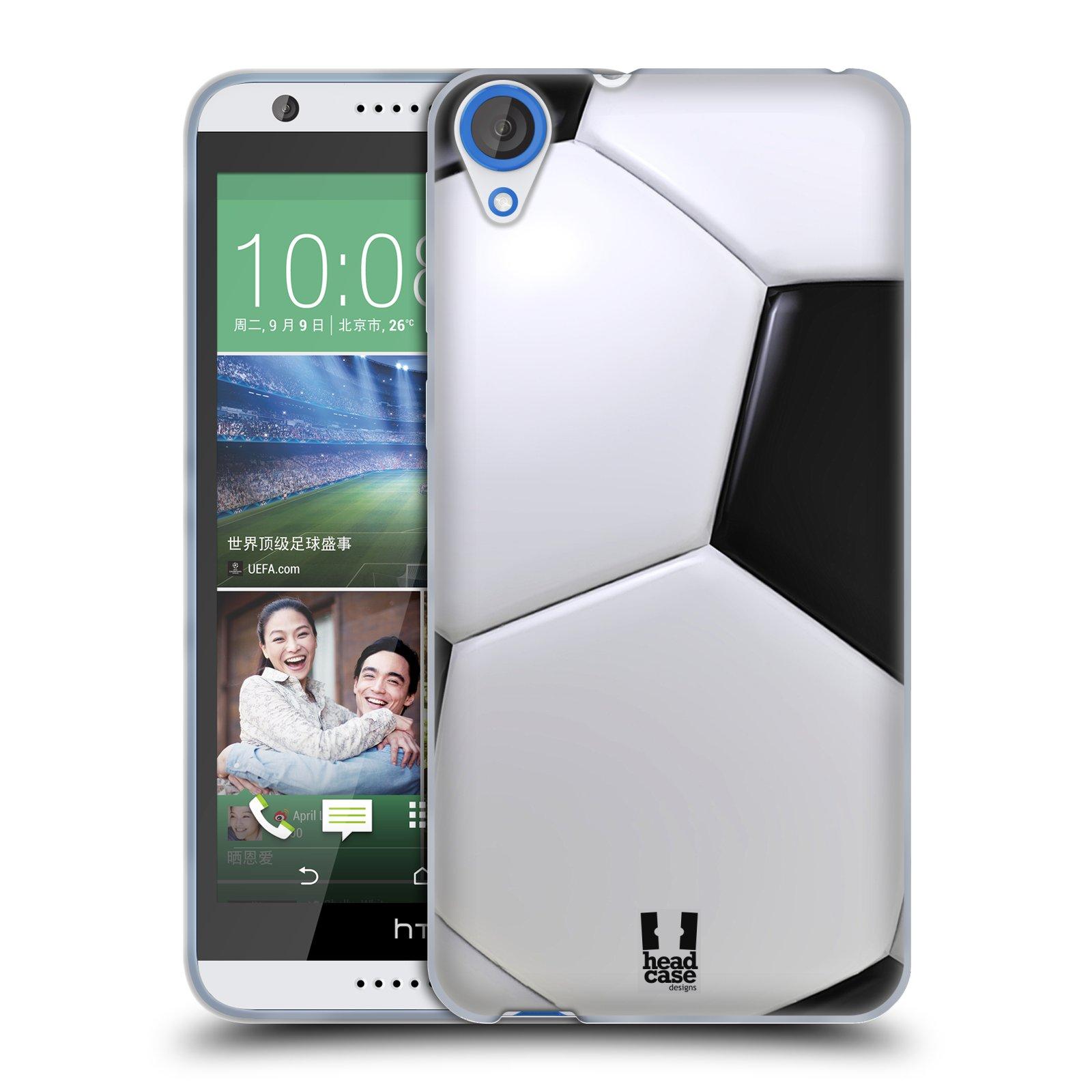 Silikonové pouzdro na mobil HTC Desire 820 HEAD CASE KOPAČÁK (Silikonový kryt či obal na mobilní telefon HTC Desire 820)