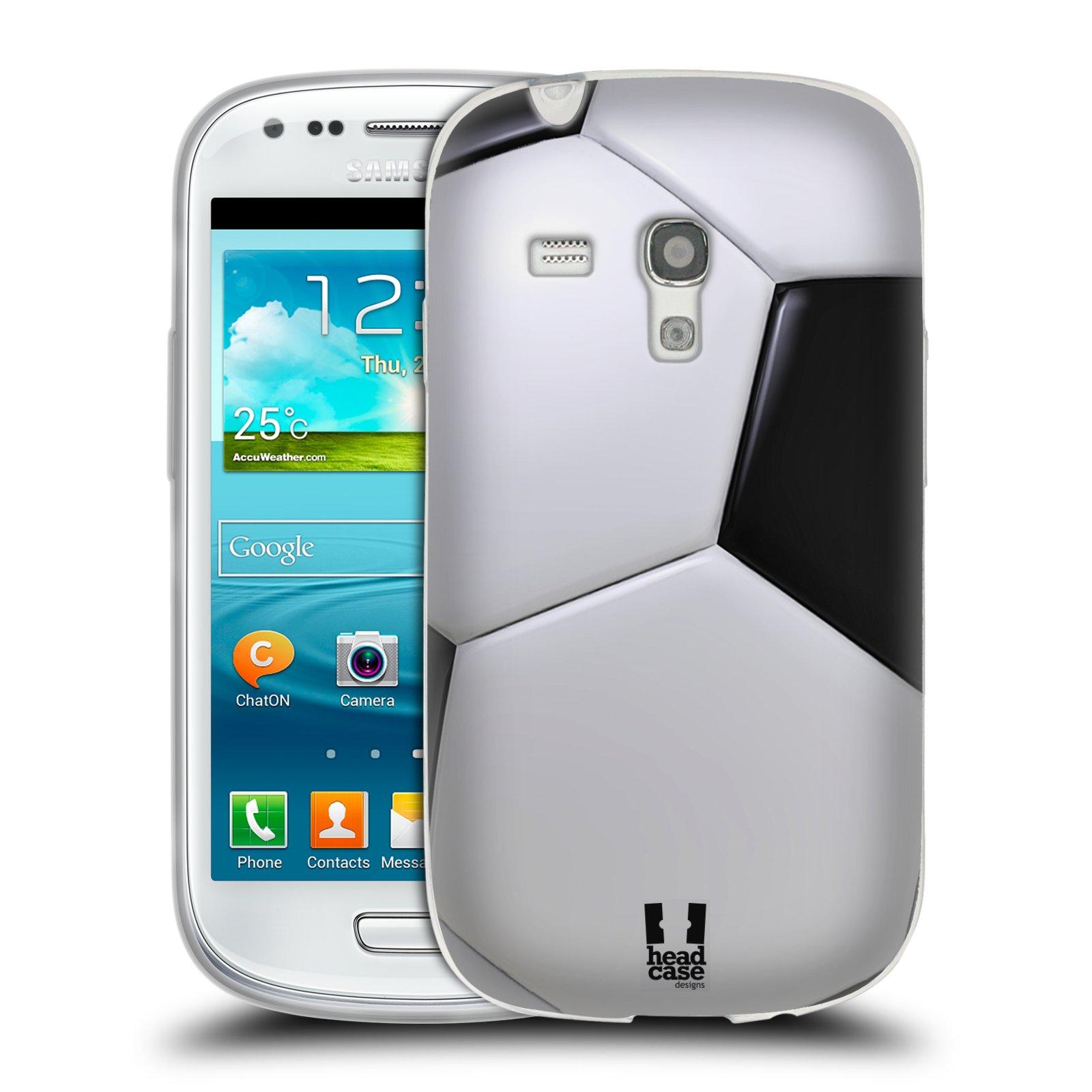 Silikonové pouzdro na mobil Samsung Galaxy S III Mini HEAD CASE KOPAČÁK (Silikonový kryt či obal na mobilní telefon Samsung Galaxy S III Mini GT-i8190)