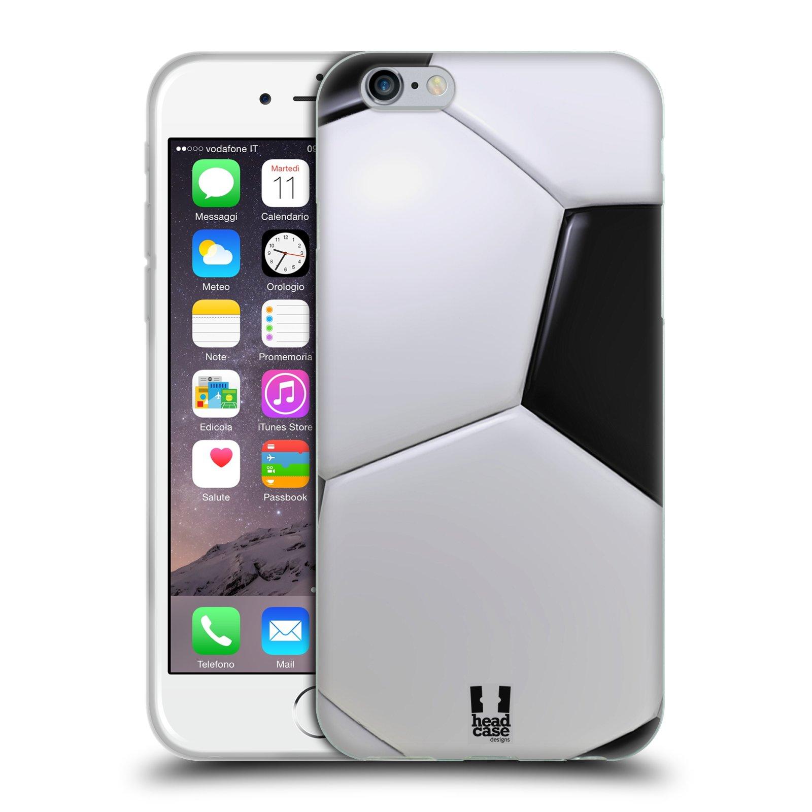 Silikonové pouzdro na mobil Apple iPhone 6 a 6S HEAD CASE KOPAČÁK