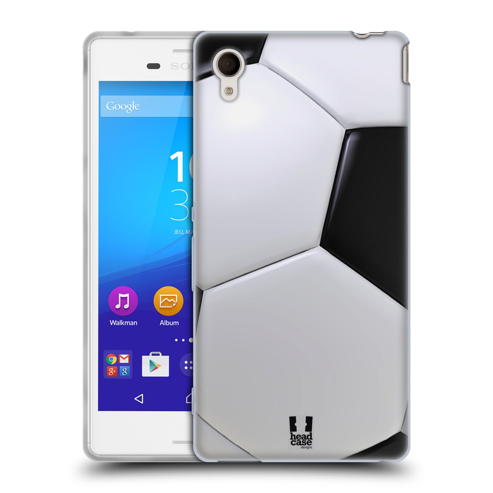 Silikonové pouzdro na mobil Sony Xperia M4 Aqua E2303 HEAD CASE KOPAČÁK (Silikonový kryt či obal na mobilní telefon Sony Xperia M4 Aqua a M4 Aqua Dual SIM)