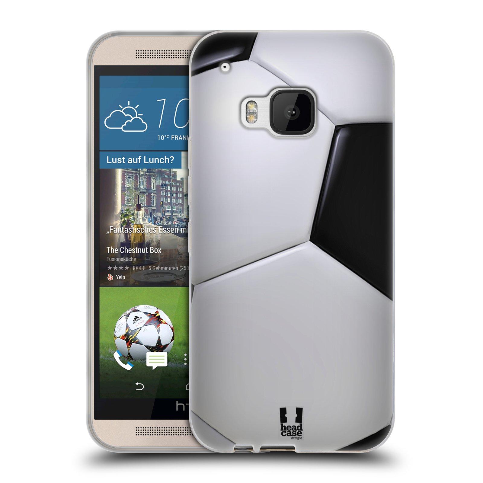 Silikonové pouzdro na mobil HTC ONE M9 HEAD CASE KOPAČÁK (Silikonový kryt či obal na mobilní telefon HTC ONE M9)