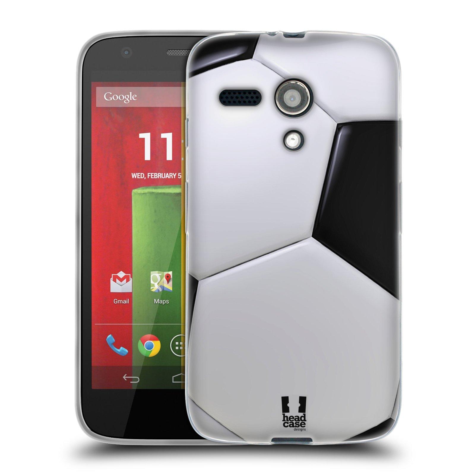 Silikonové pouzdro na mobil Motorola Moto G HEAD CASE KOPAČÁK (Silikonový kryt či obal na mobilní telefon Motorola Moto G)