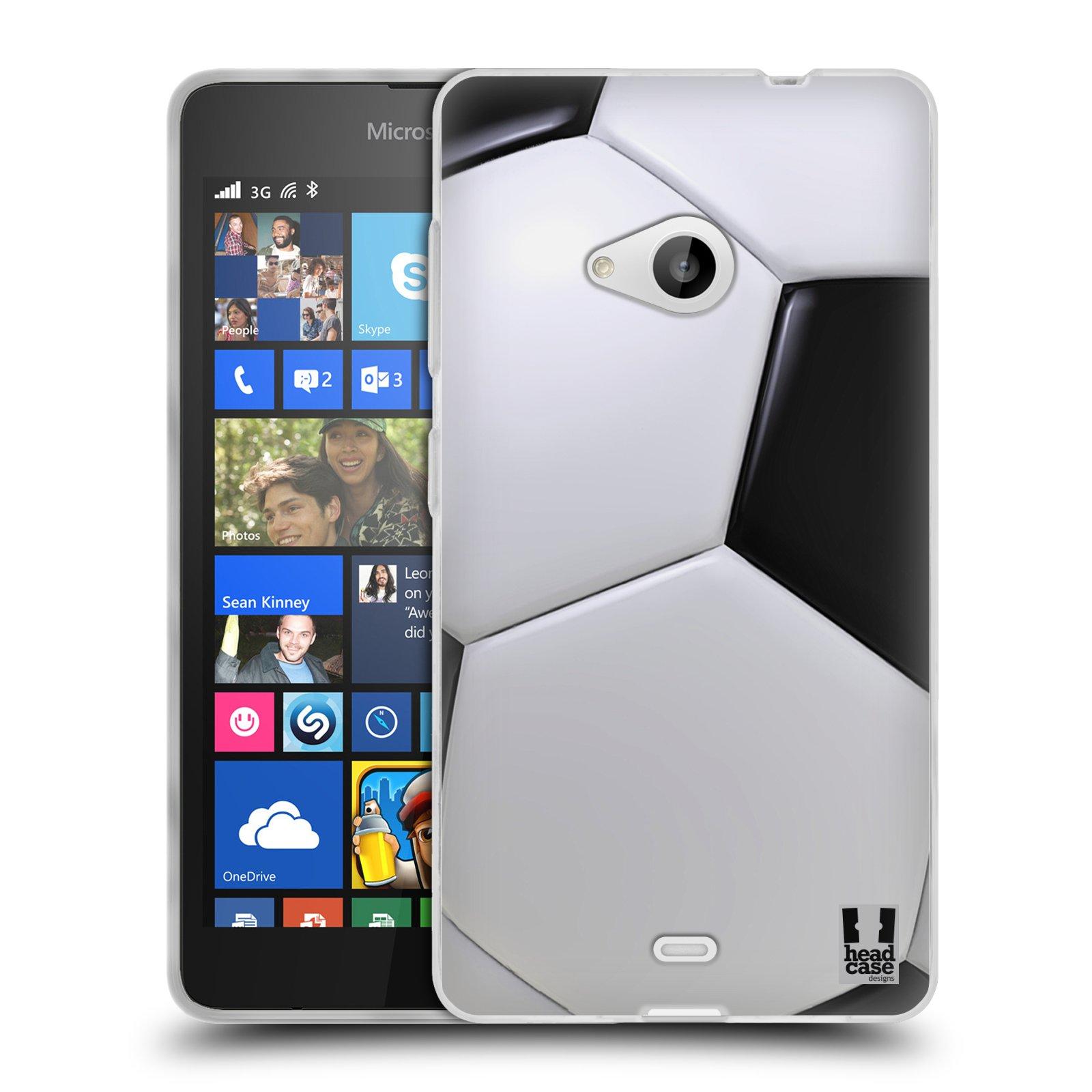 Silikonové pouzdro na mobil Microsoft Lumia 535 HEAD CASE KOPAČÁK (Silikonový kryt či obal na mobilní telefon Microsoft Lumia 535)
