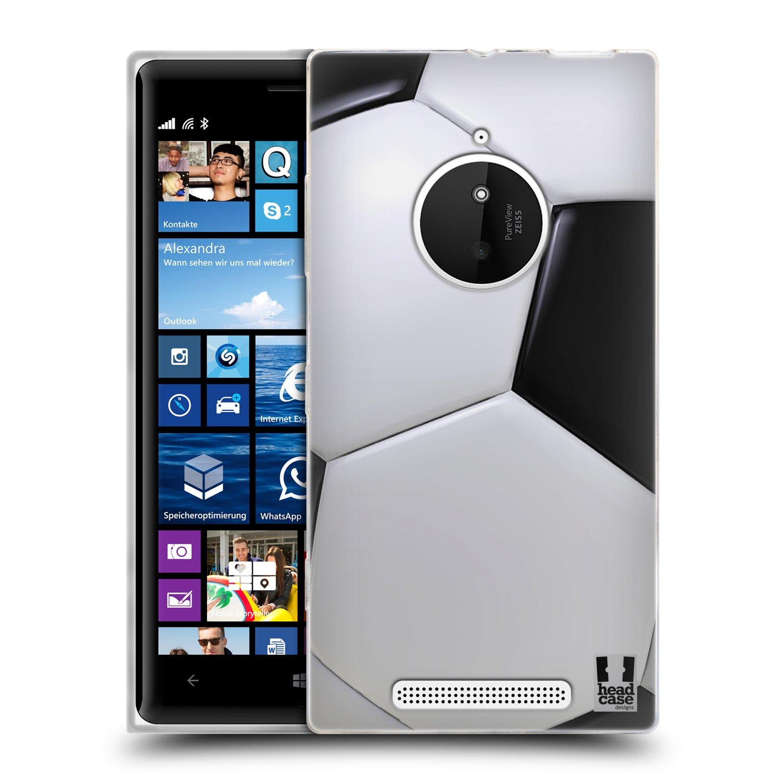 Silikonové pouzdro na mobil Nokia Lumia 830 HEAD CASE KOPAČÁK (Silikonový kryt či obal na mobilní telefon Nokia Lumia 830)