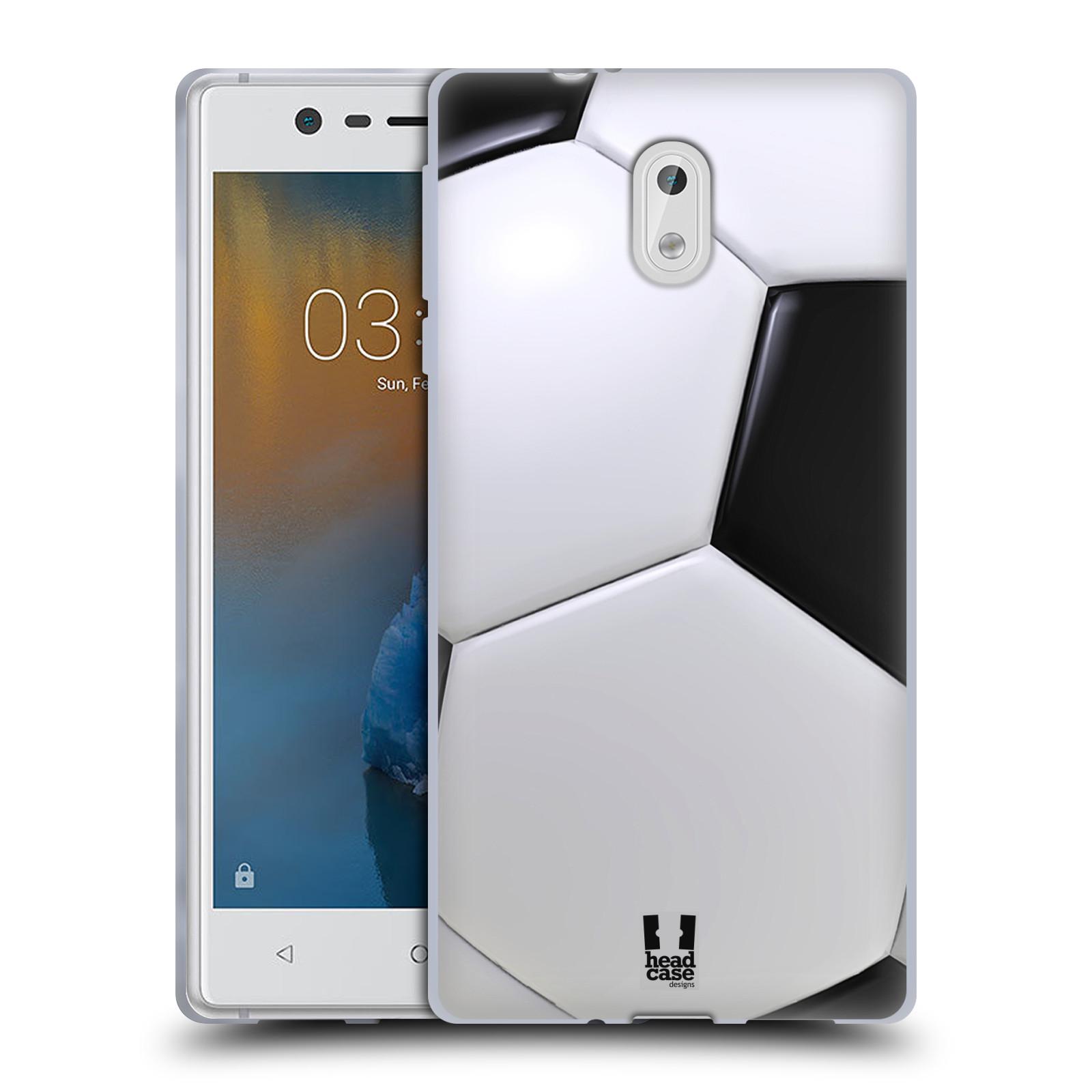 Silikonové pouzdro na mobil Nokia 3 Head Case - KOPAČÁK