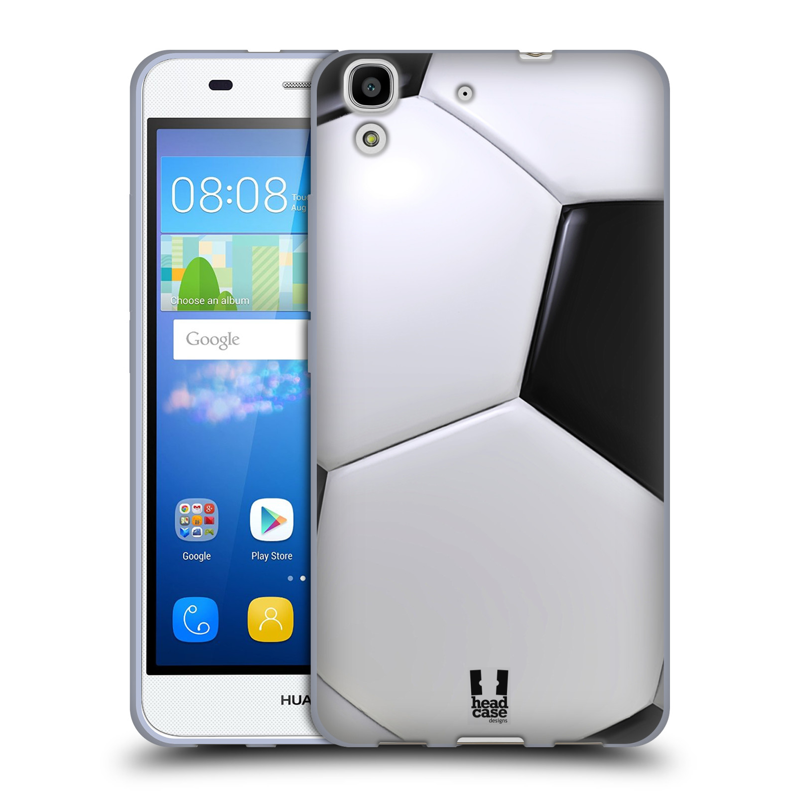 Silikonové pouzdro na mobil Huawei Y6 HEAD CASE KOPAČÁK