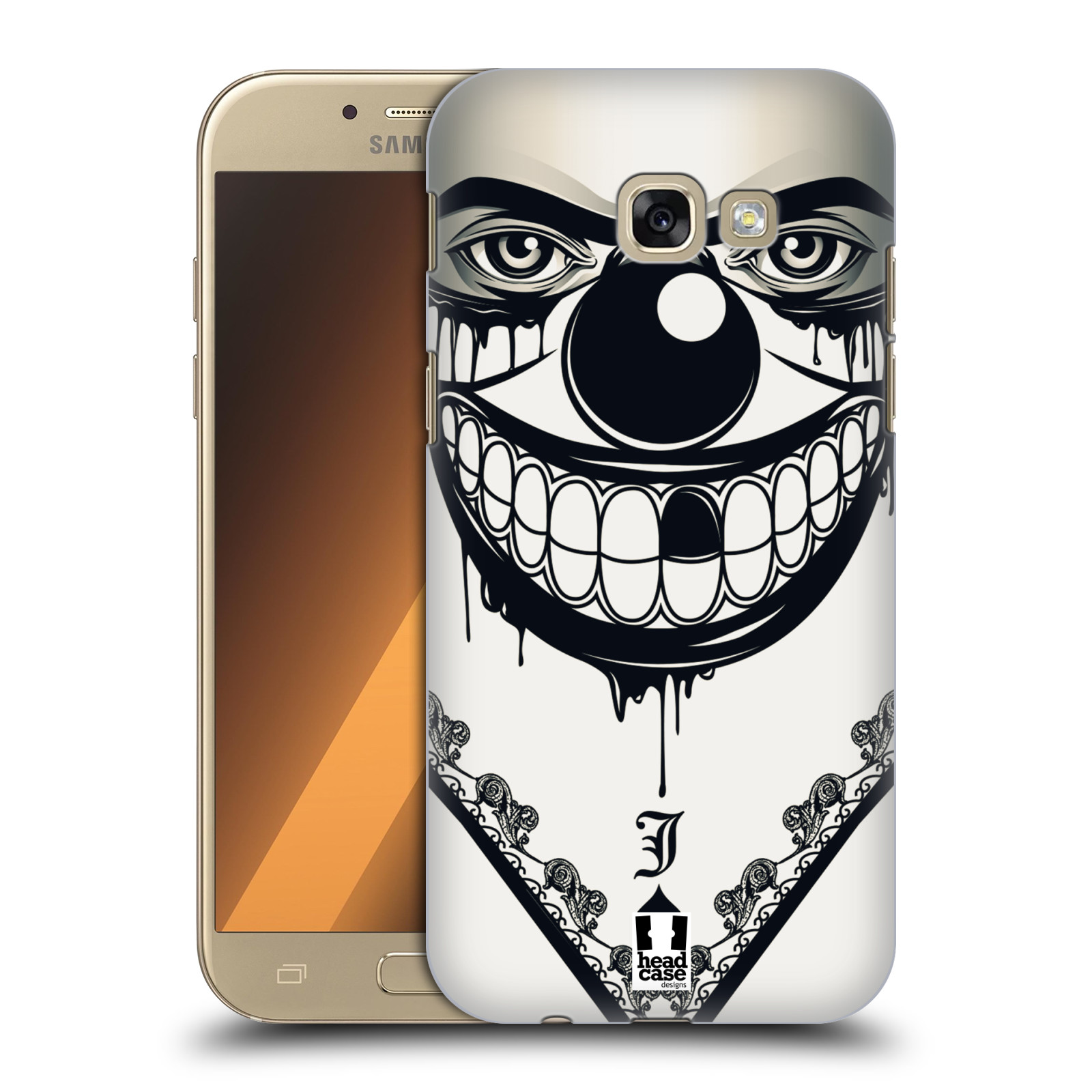 Plastové pouzdro na mobil Samsung Galaxy A5 (2017) HEAD CASE ZLEJ KLAUN