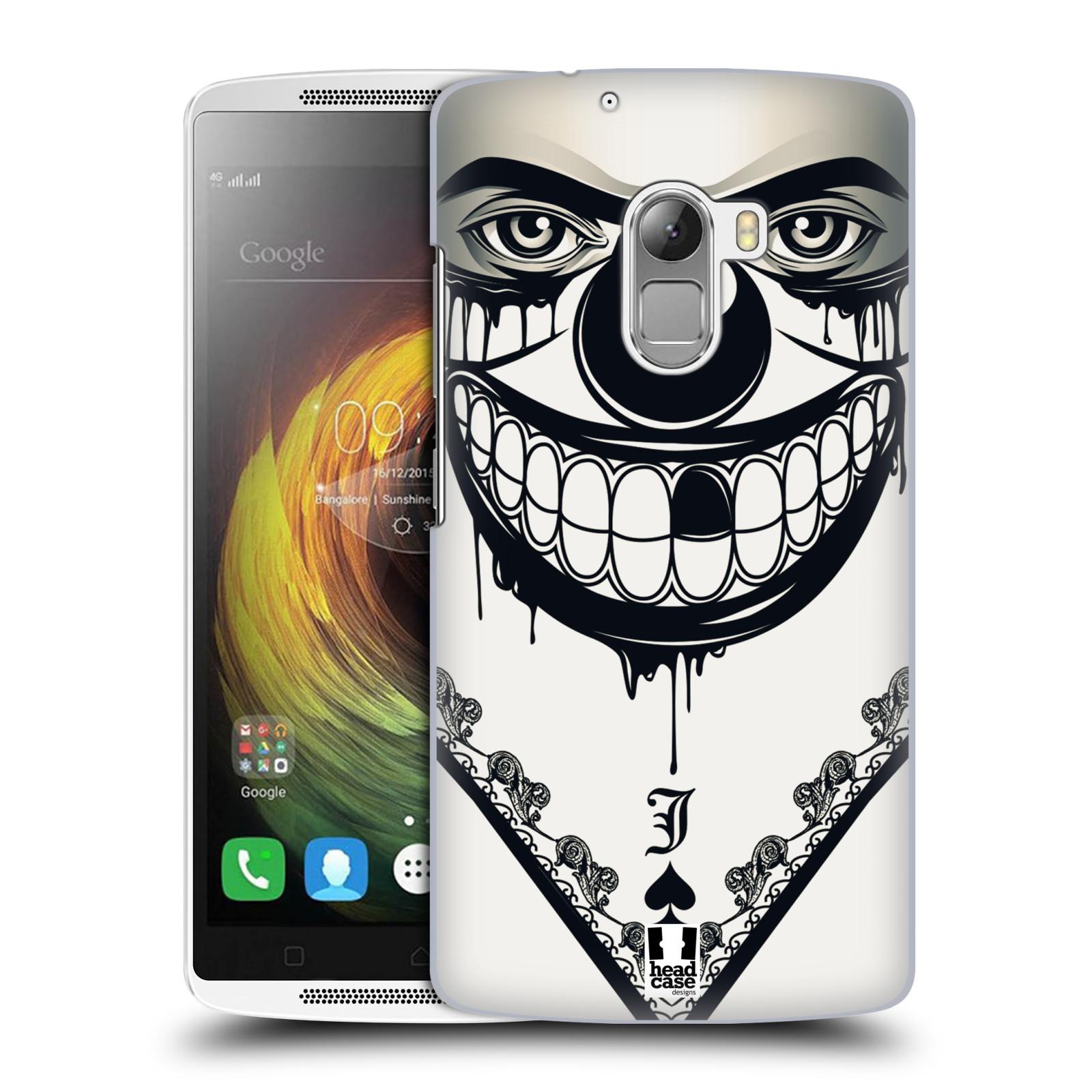 Plastové pouzdro na mobil Lenovo A7010 HEAD CASE ZLEJ KLAUN