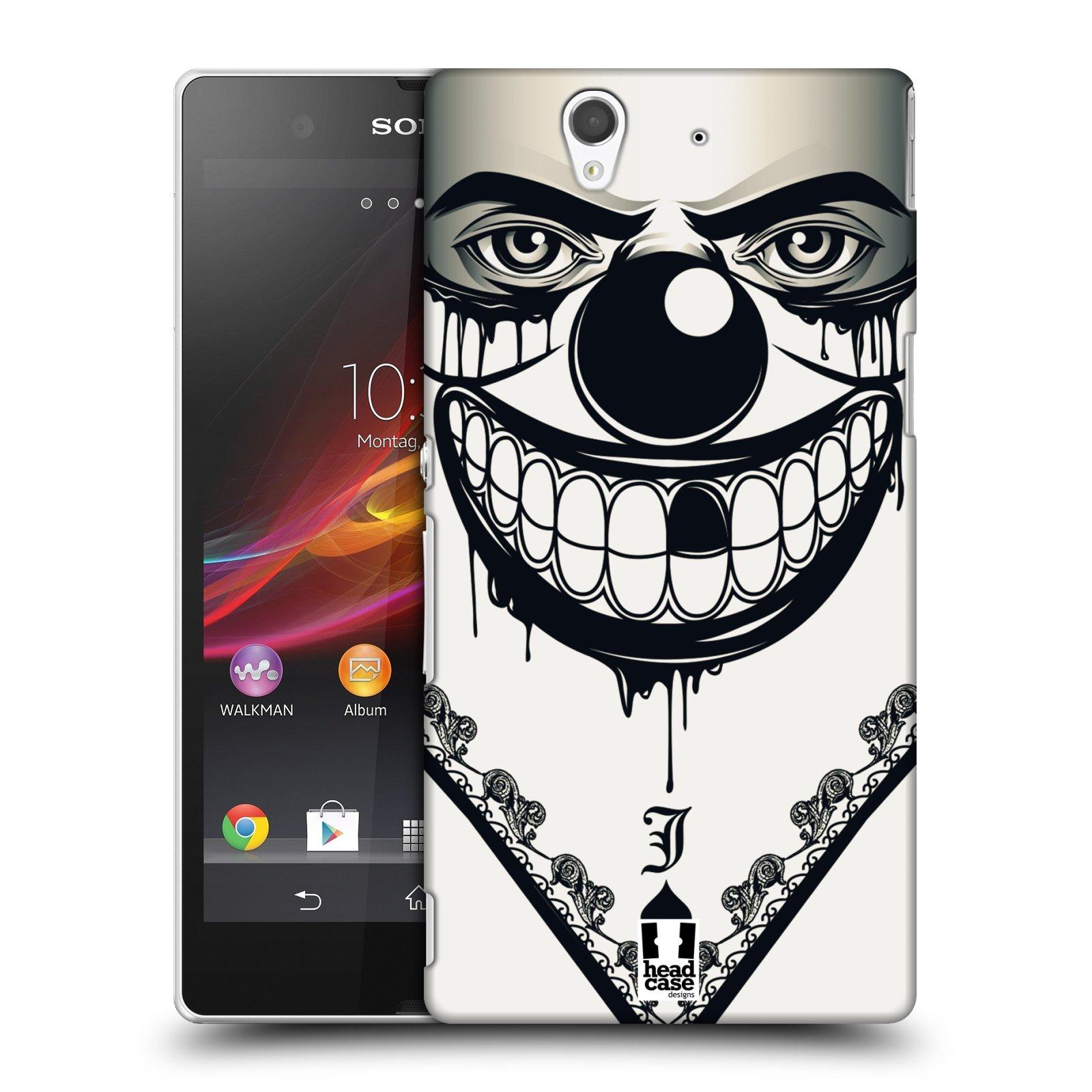 Plastové pouzdro na mobil Sony Xperia Z C6603 HEAD CASE ZLEJ KLAUN
